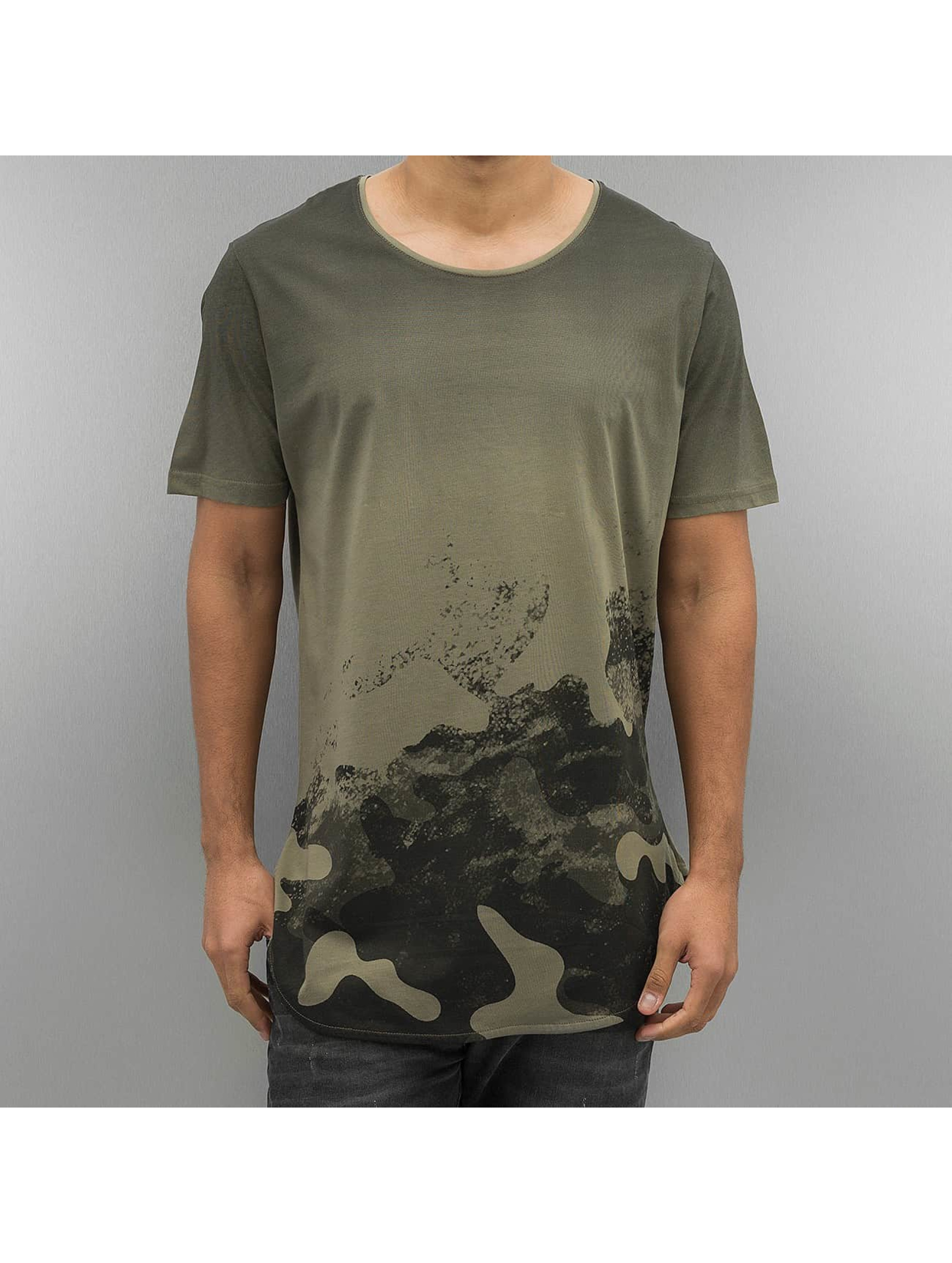 2Y T-skjorter Ventura khaki