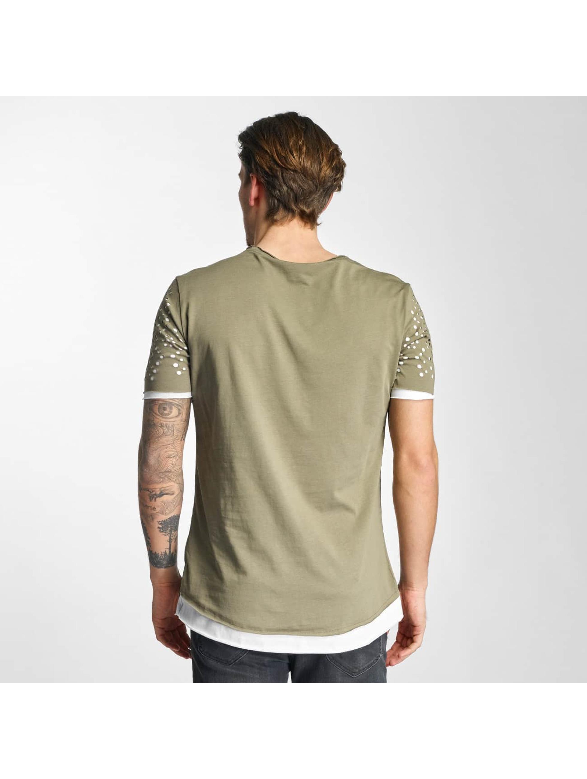 2Y T-skjorter Holes khaki