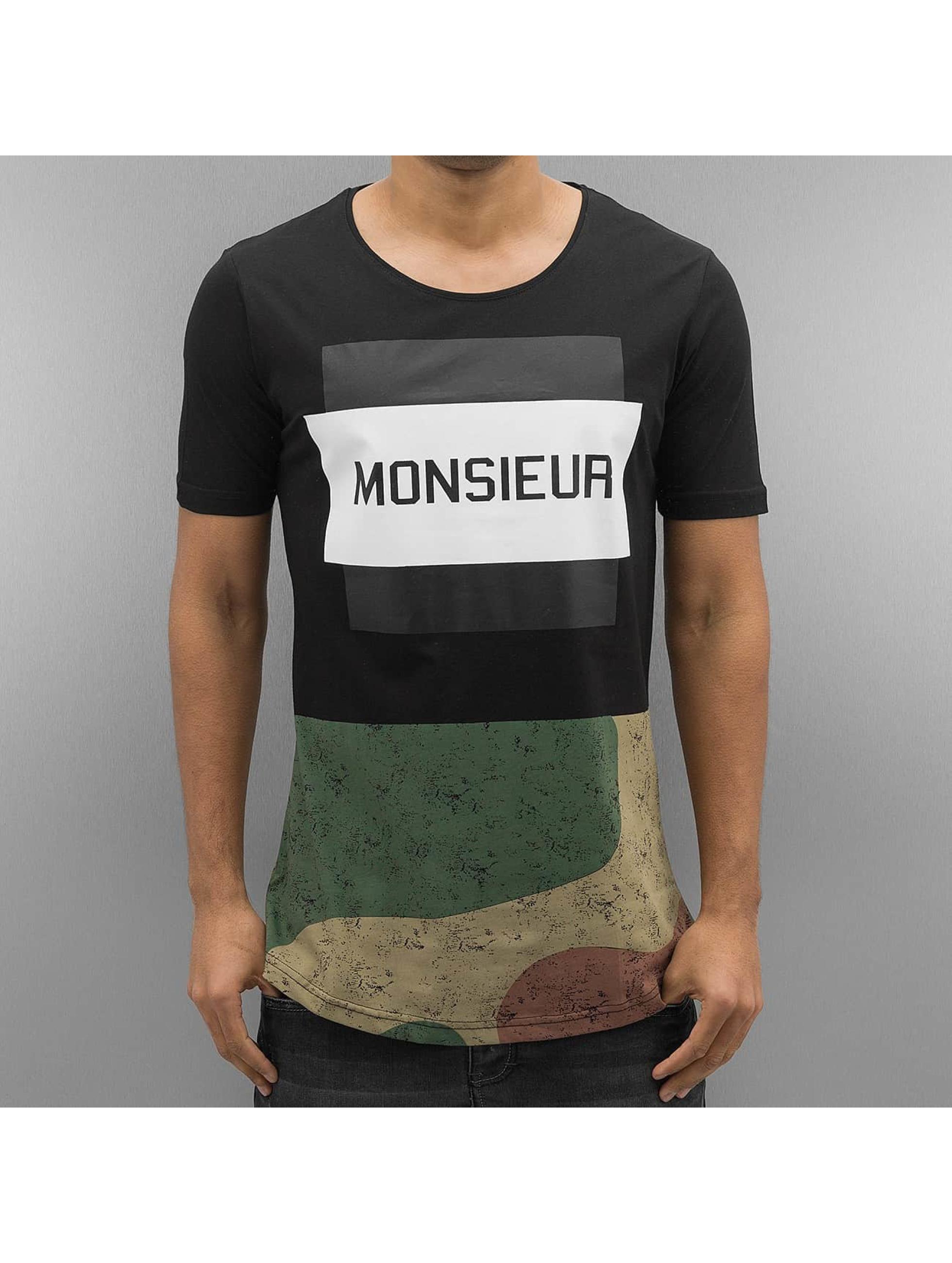2Y T-skjorter Monsieur svart