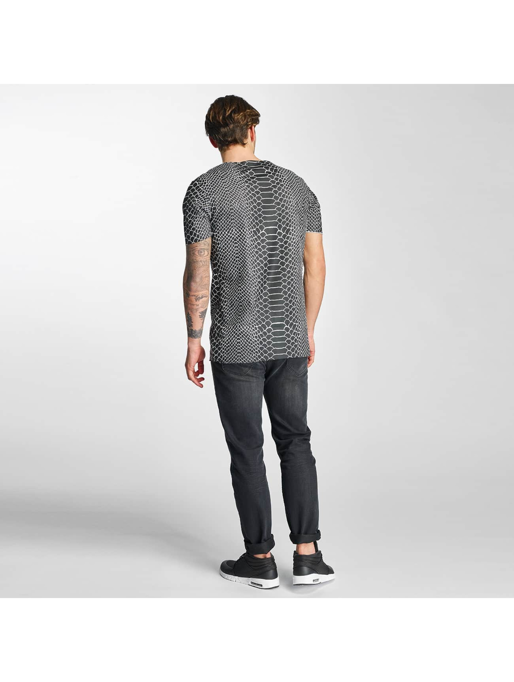2Y T-skjorter Snake svart