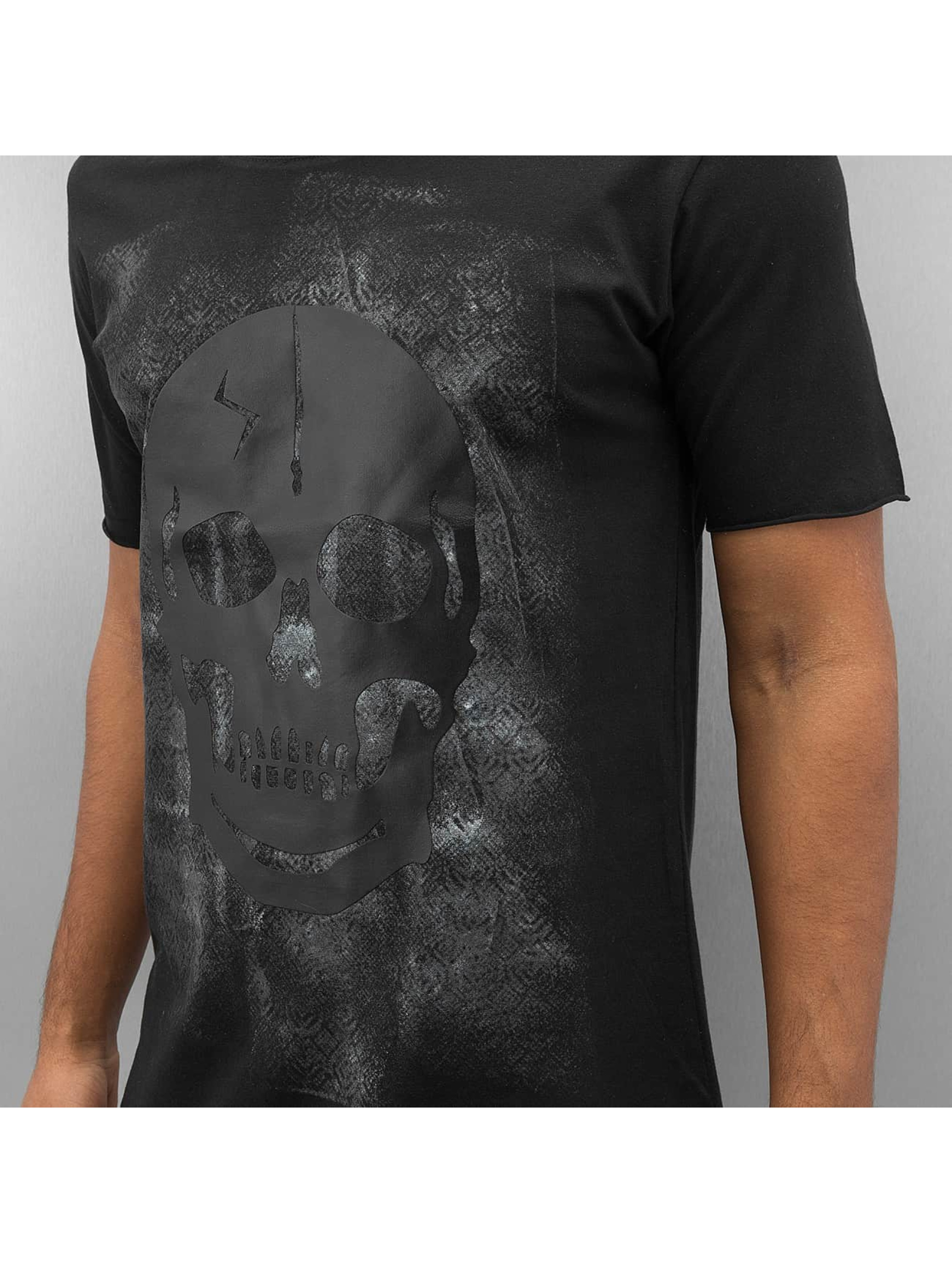 2Y Tričká Skull èierna