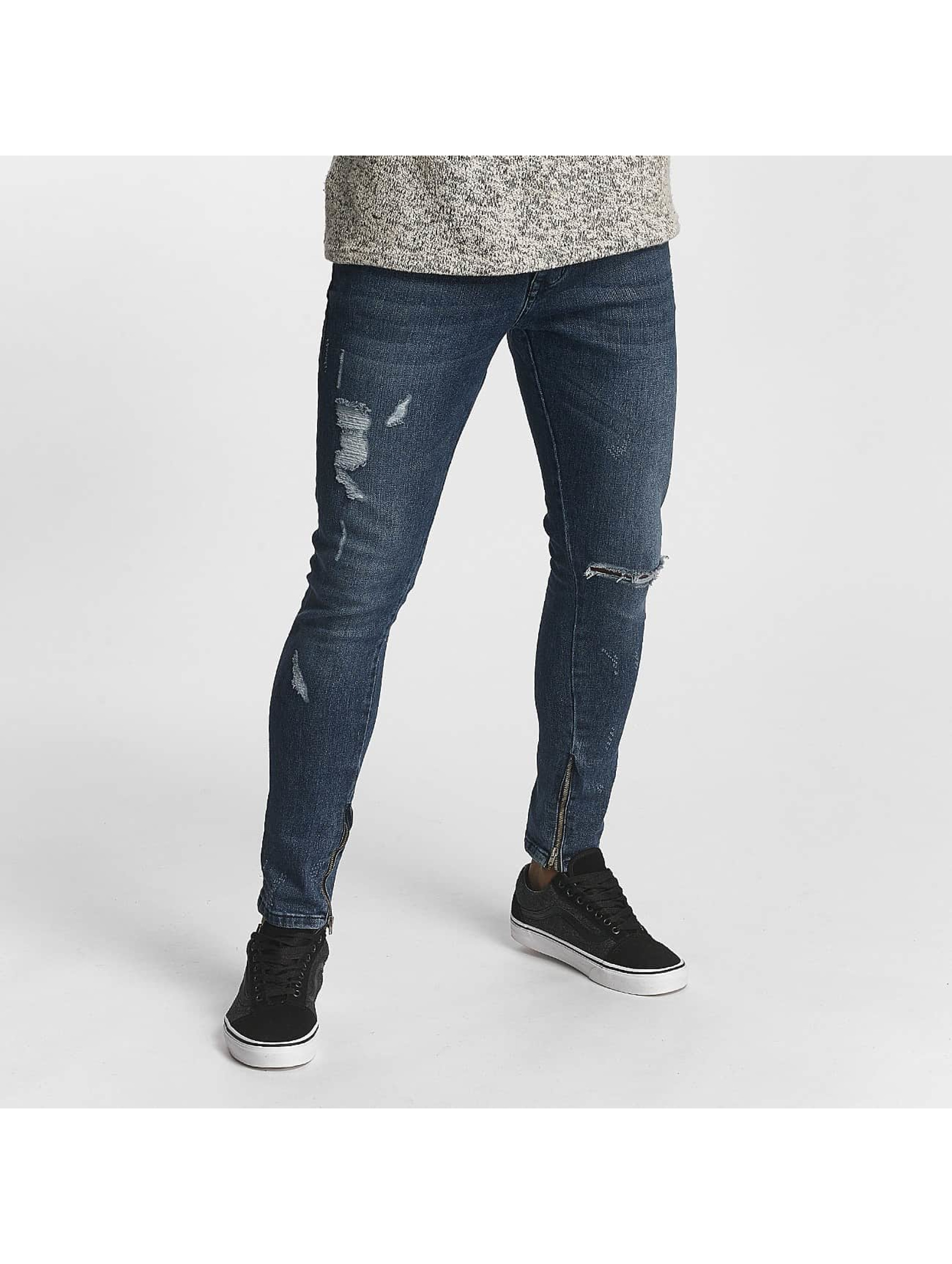 2Y Tynne bukser Jacob blå