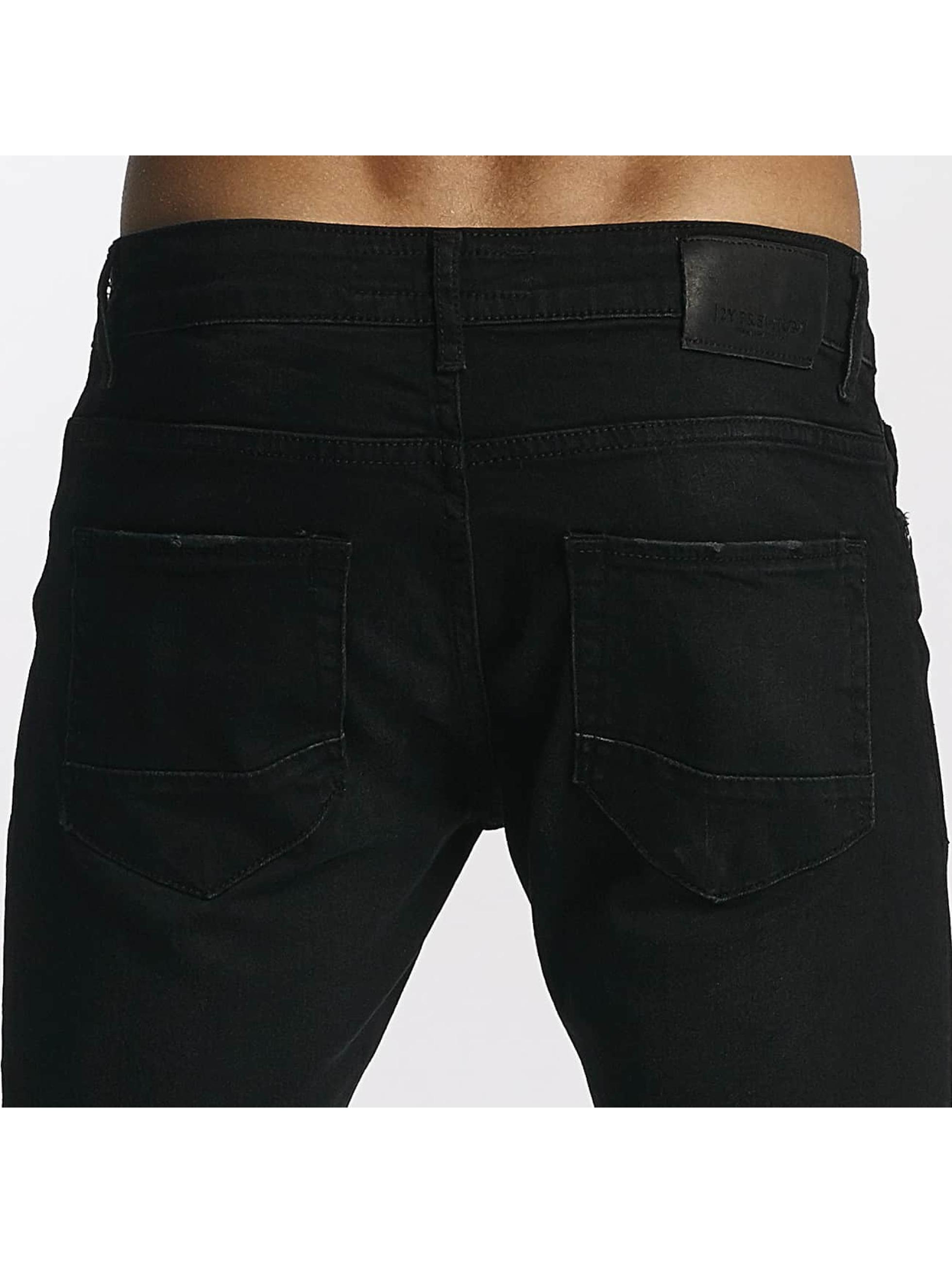2Y Tynne bukser Samuel svart