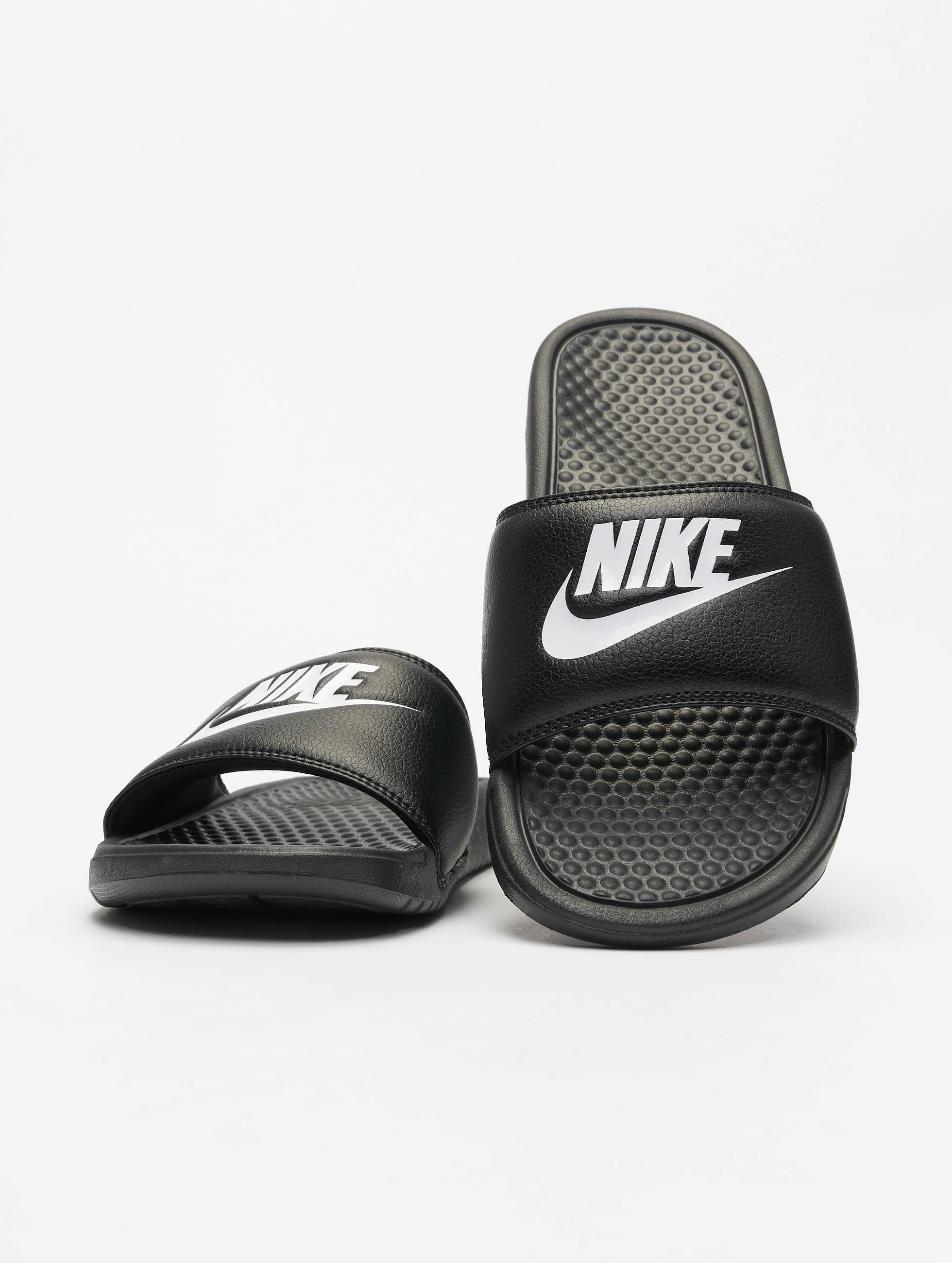 Nike Benassi Jdi Noir Homme Claquettes Amp Sandales 256902