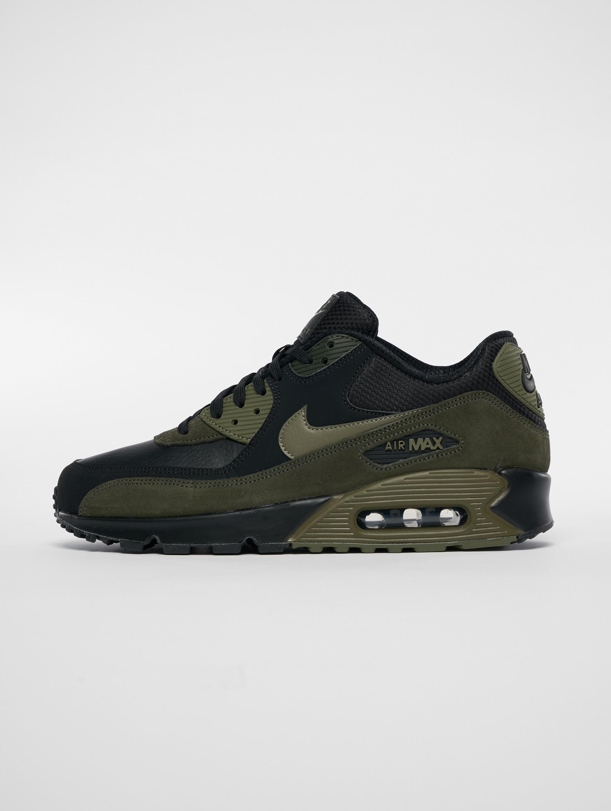 free shipping 38734 4e589 Nike Skor   Sneakers Air Max 90 Leather i svart 499226