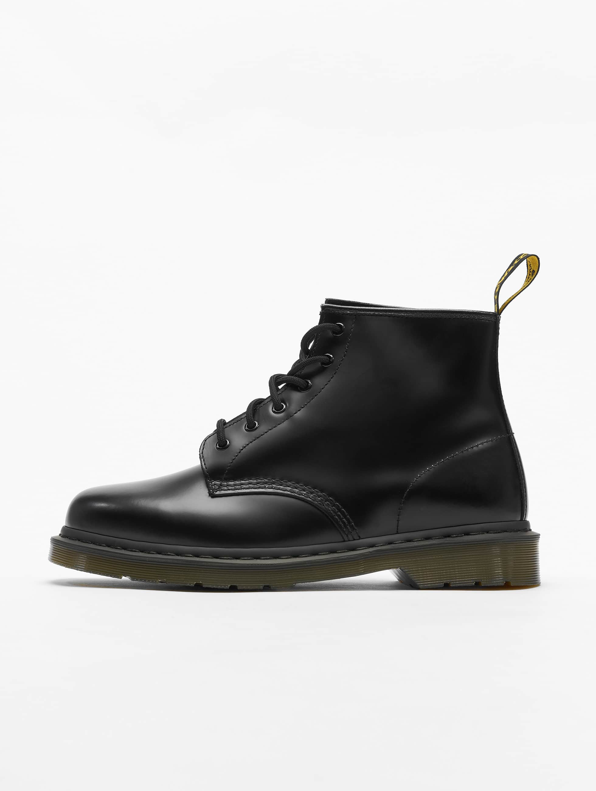 Police 6 DrMartens Pw Boots Leather Black 101 Smooth Eye dxWreECoQB