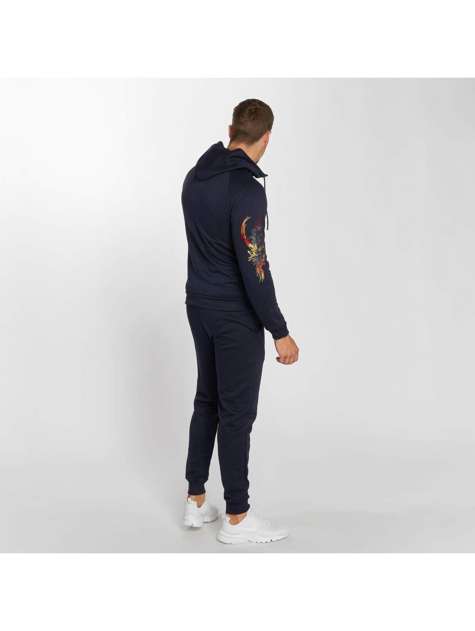 Aarhon Anzug Stitch blau