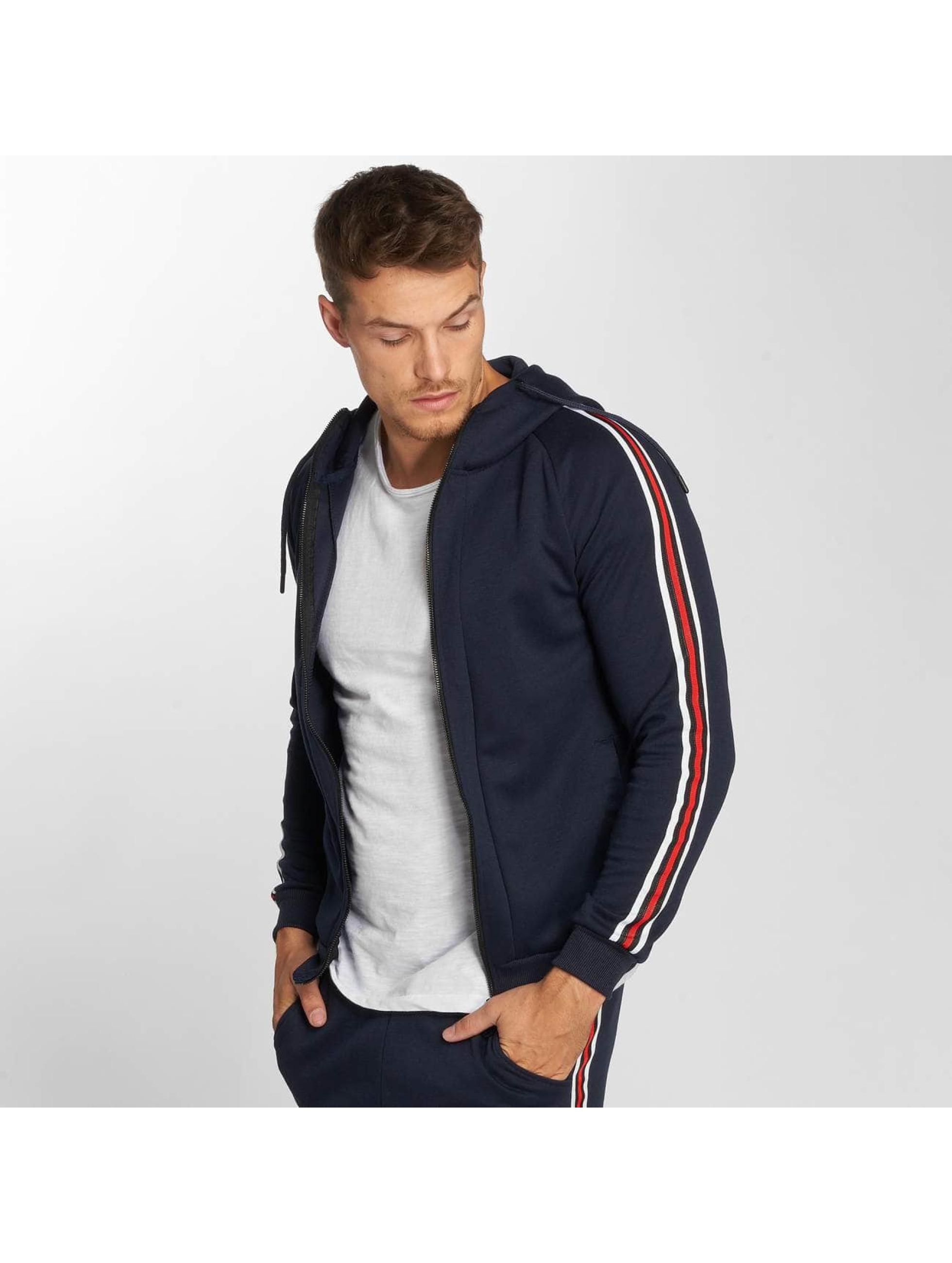 Aarhon Anzug Coloured Stripes blau