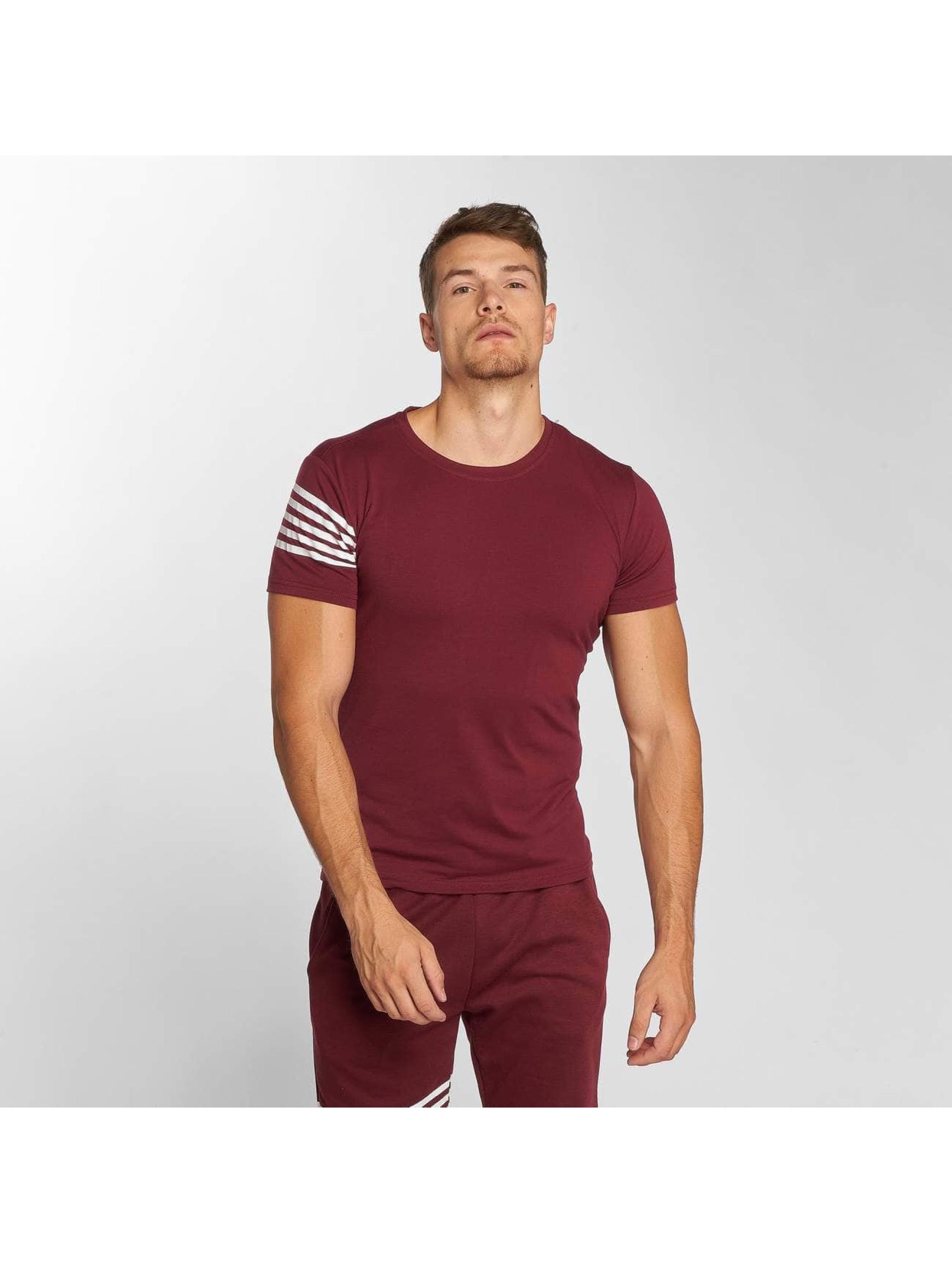 Aarhon Anzug Stripes rot