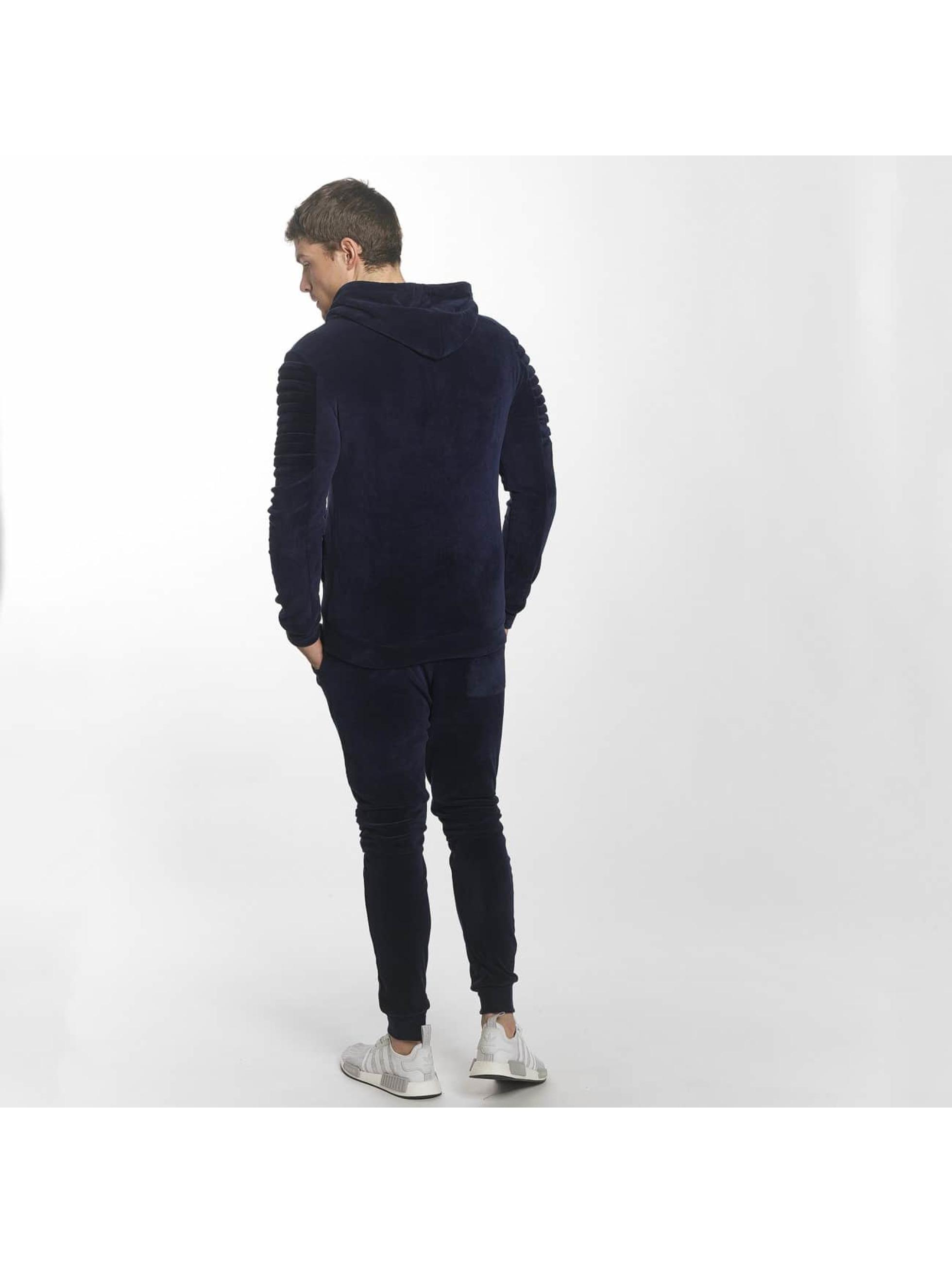 Aarhon Ensemble & Survêtement Velour bleu