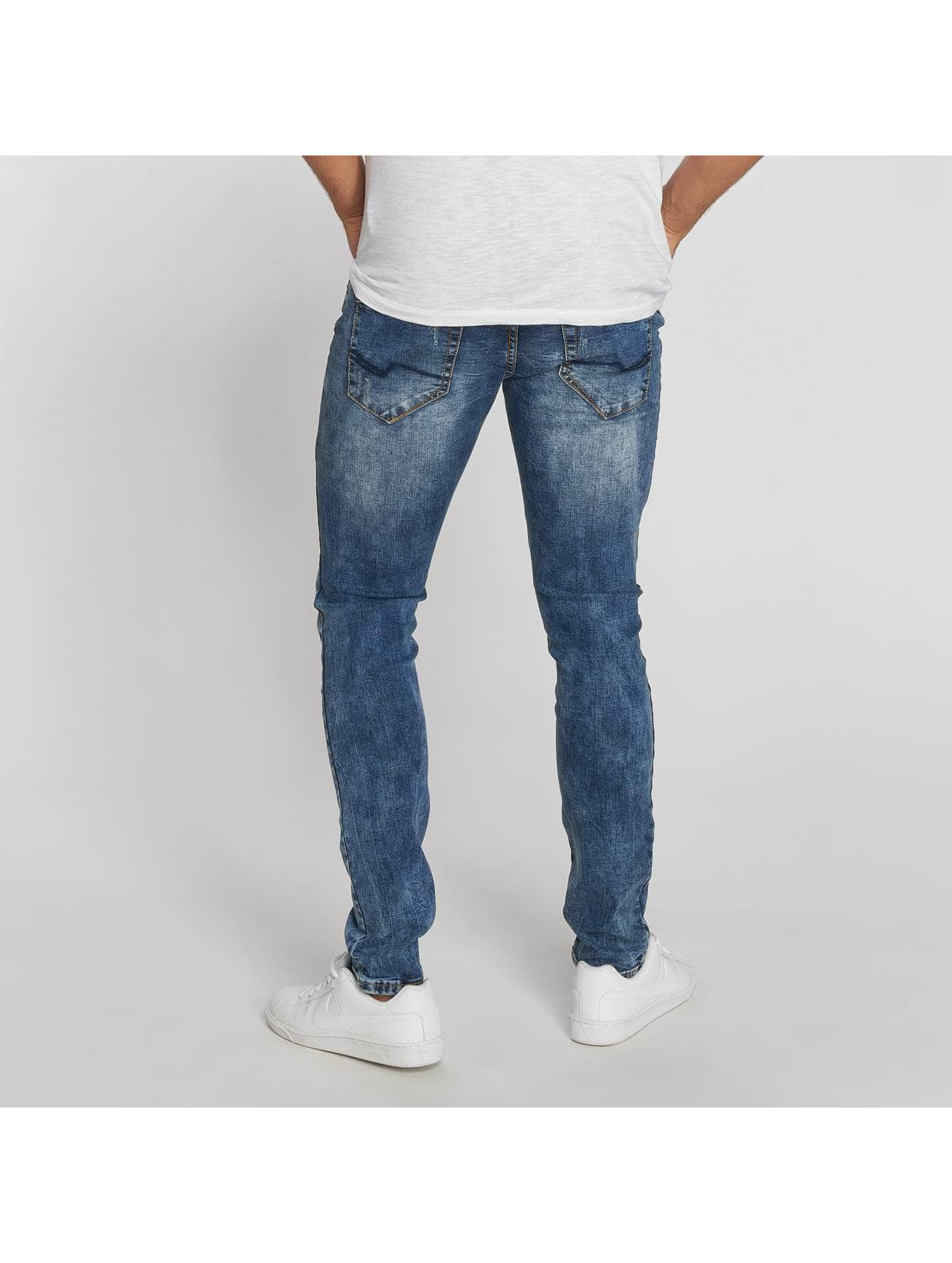 Aarhon Jean coupe droite Dark Washed bleu