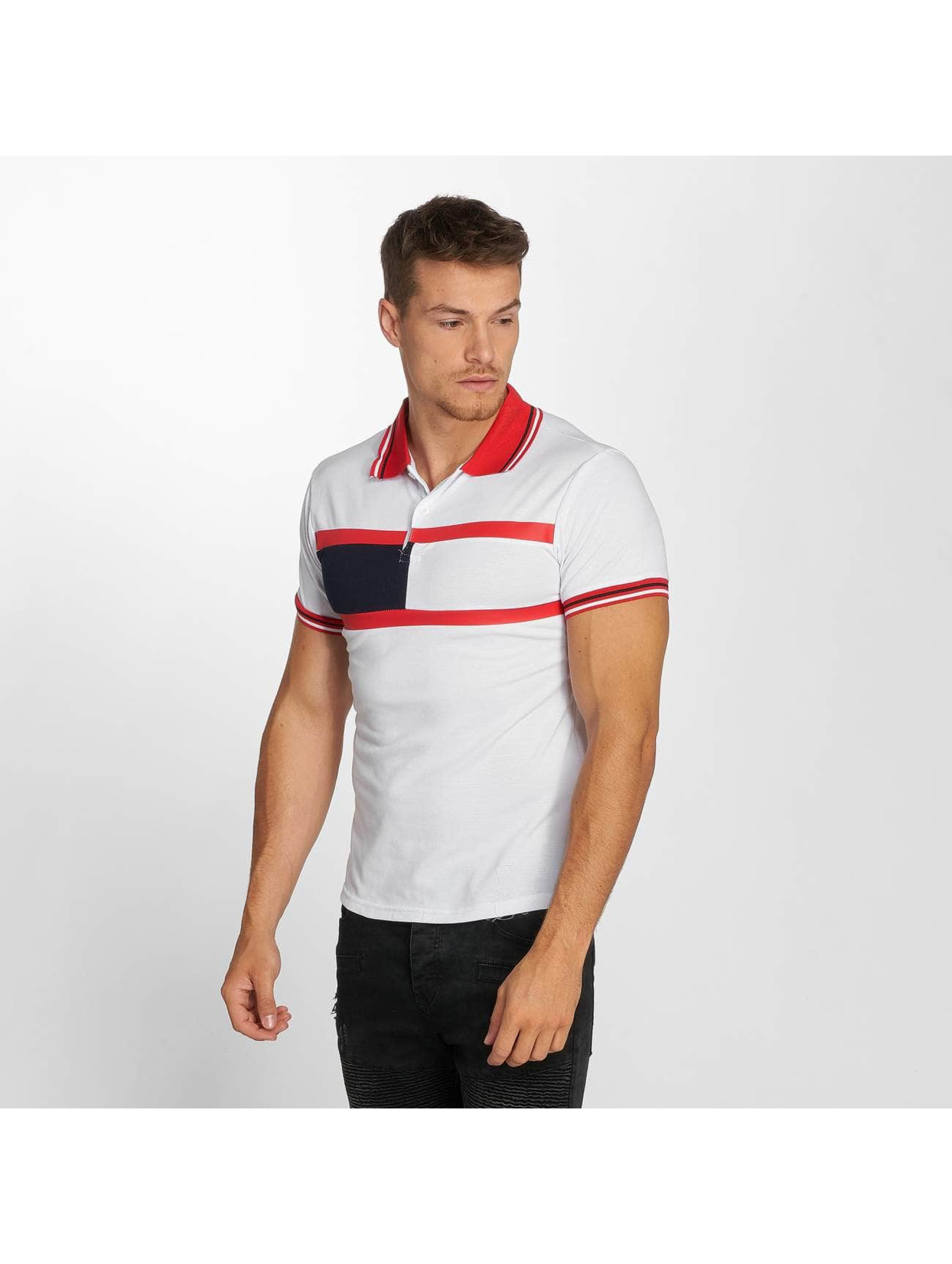 Aarhon Koszulki Polo Stripes bialy