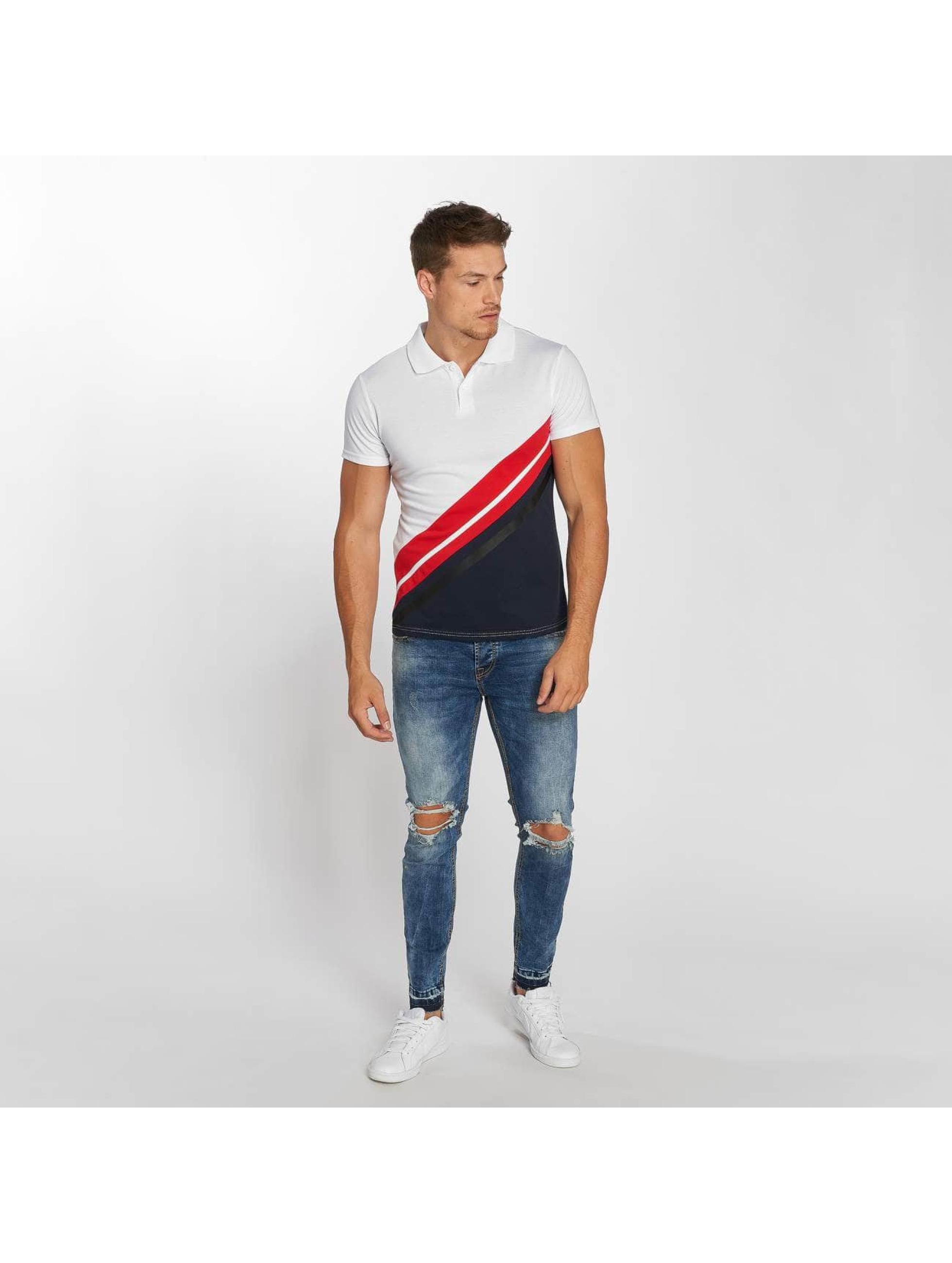 Aarhon Koszulki Polo Diagonal bialy