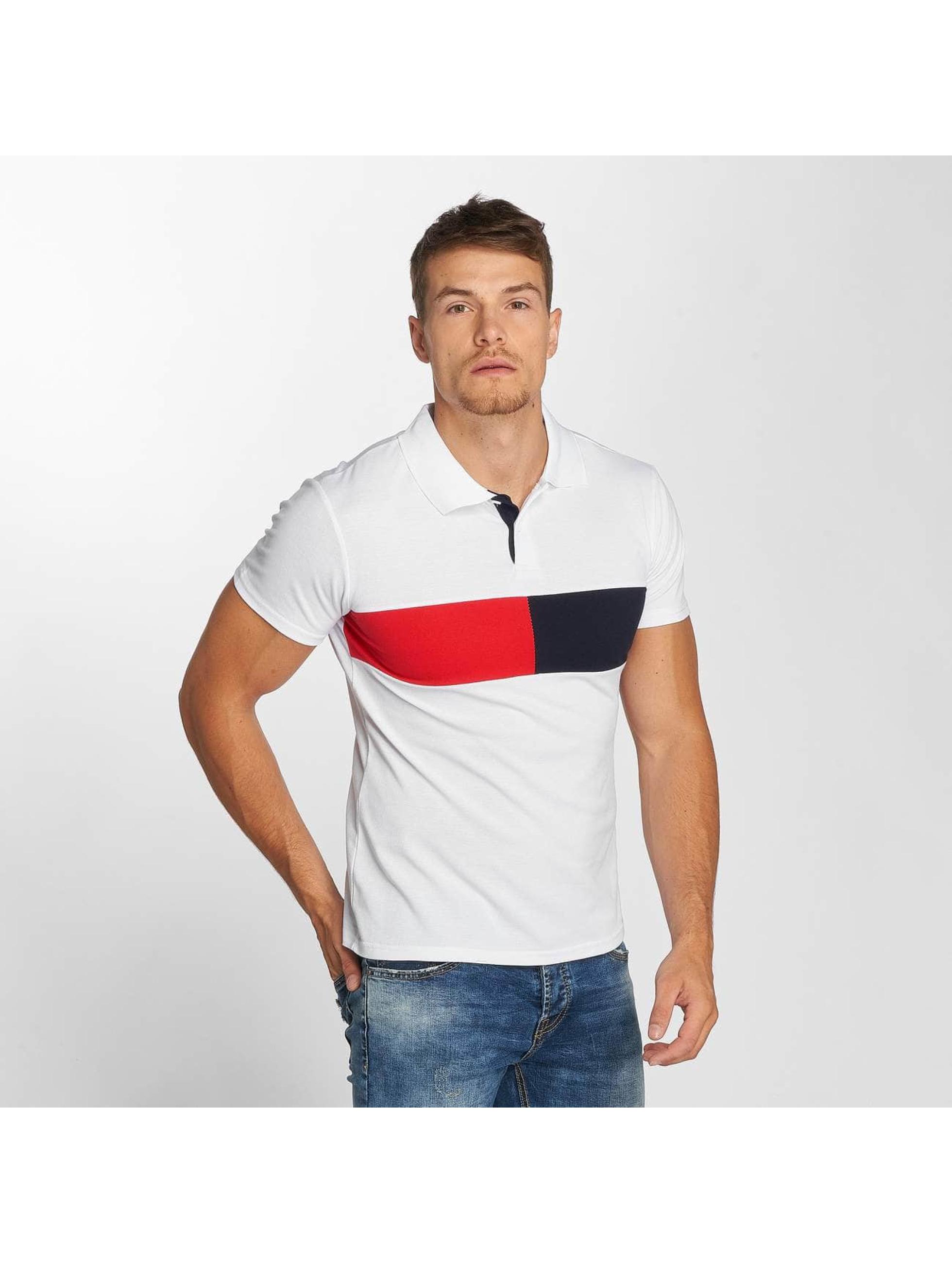 Aarhon Koszulki Polo Stripe bialy