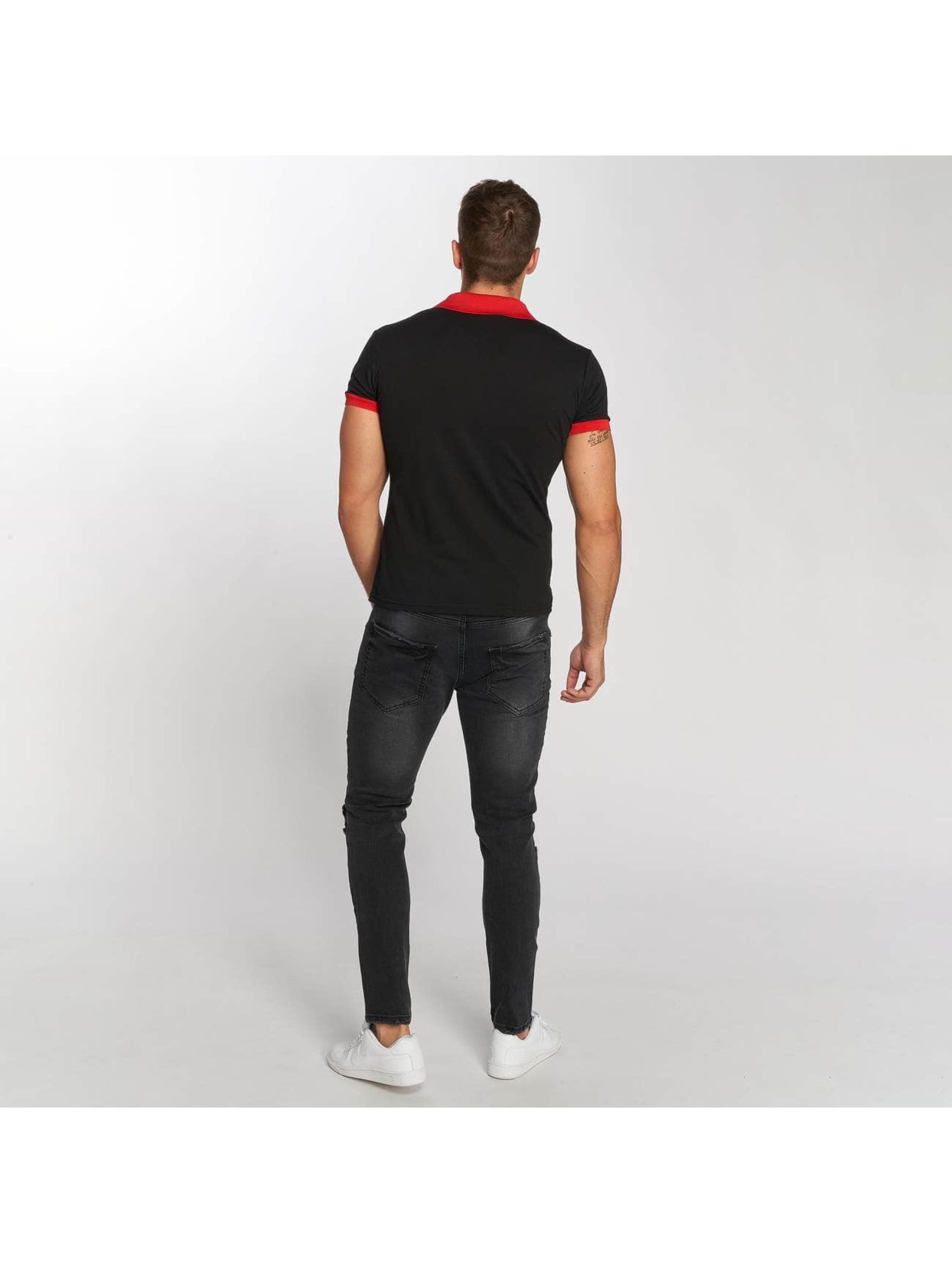 Aarhon Koszulki Polo Two-Tone czarny