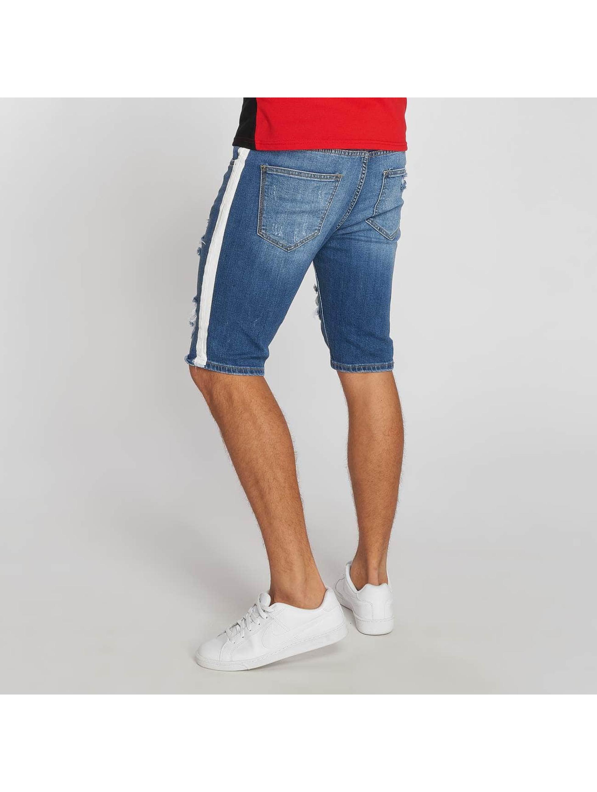 Aarhon Pantalón cortos Stripe azul