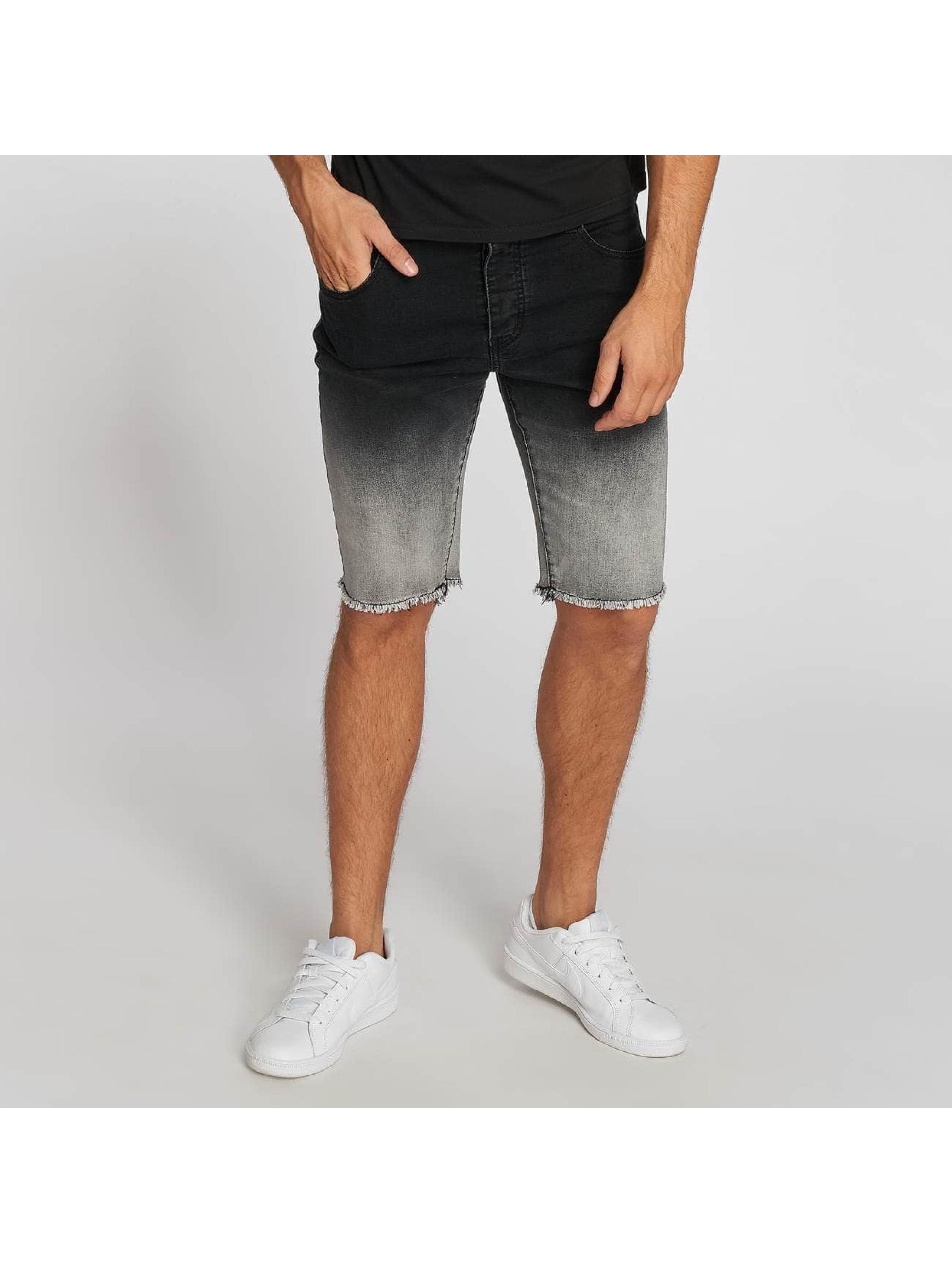 Aarhon Pantalón cortos Gradient negro
