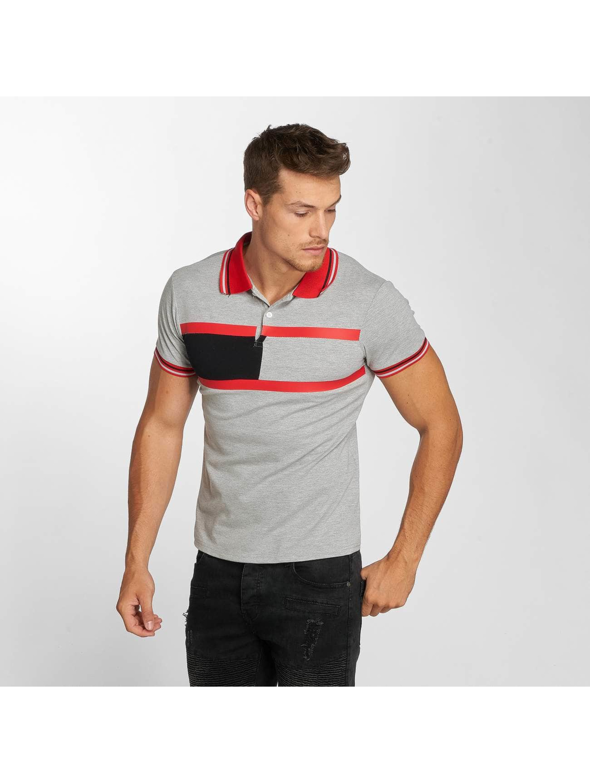 Aarhon Polo Stripes gris