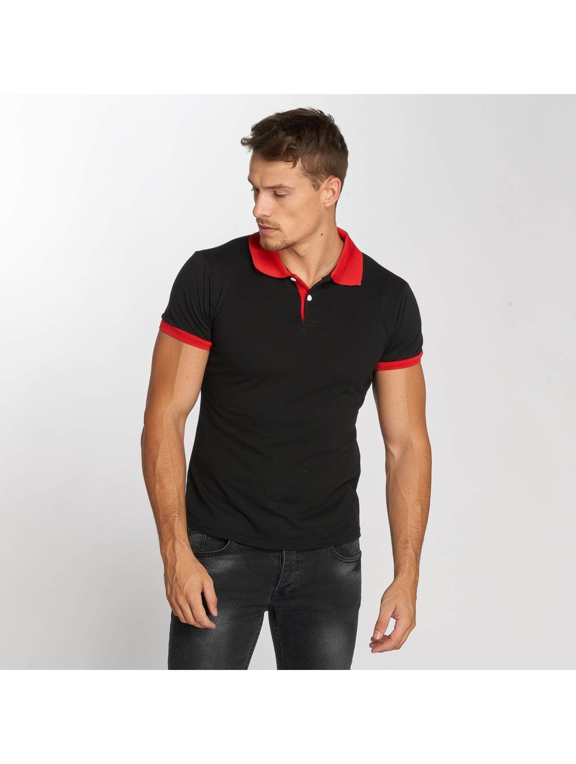 Aarhon Poloshirt Two-Tone black