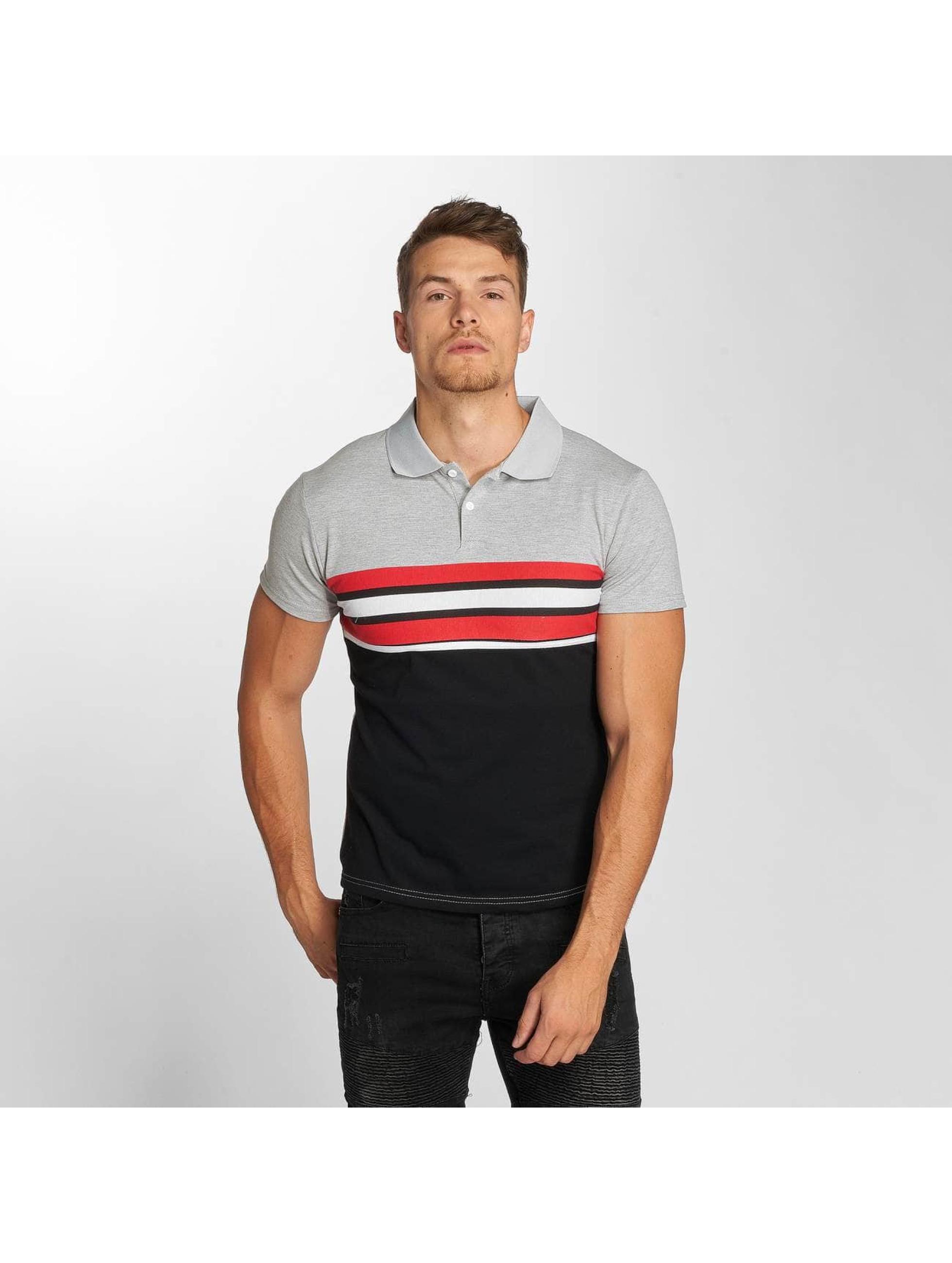 Aarhon Poloshirt Two Colours grau