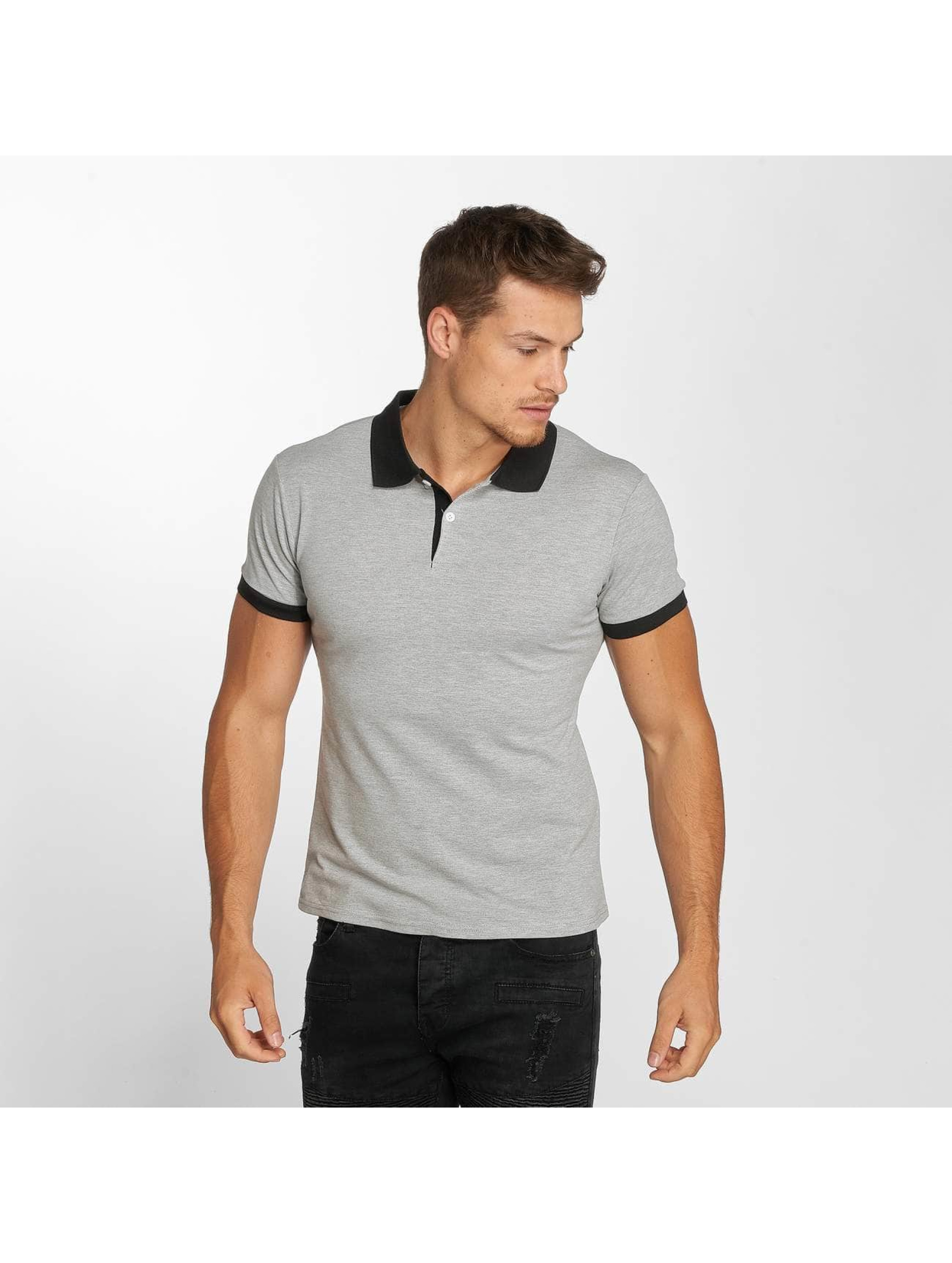 Aarhon Poloshirt Classic grau