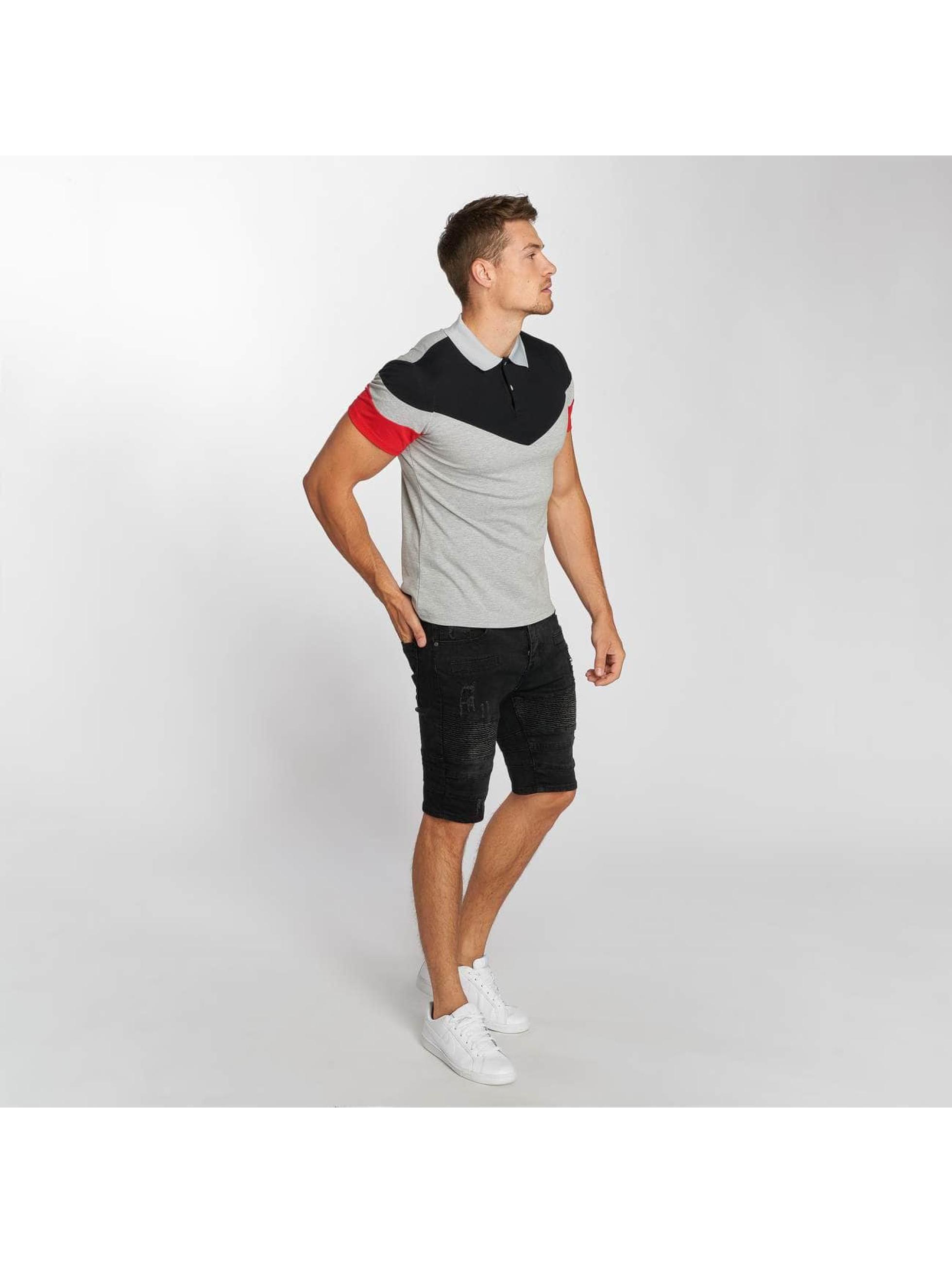 Aarhon Poloshirt Block grey
