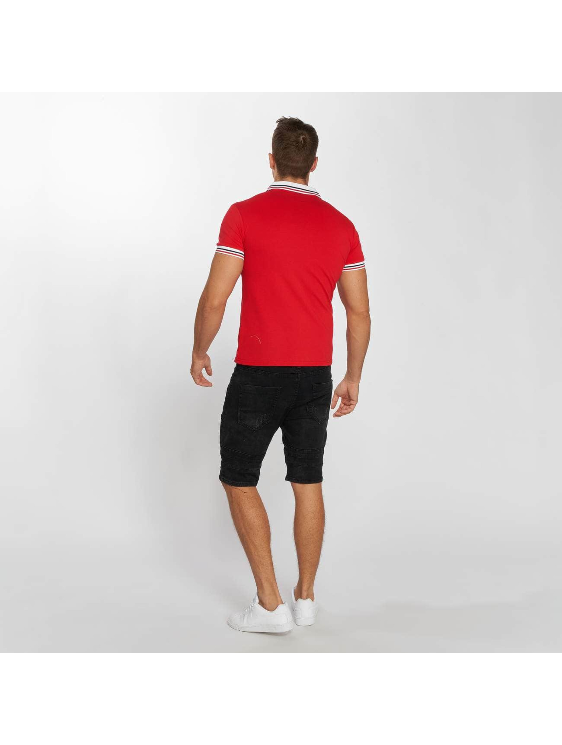 Aarhon Poloshirt Stripes red