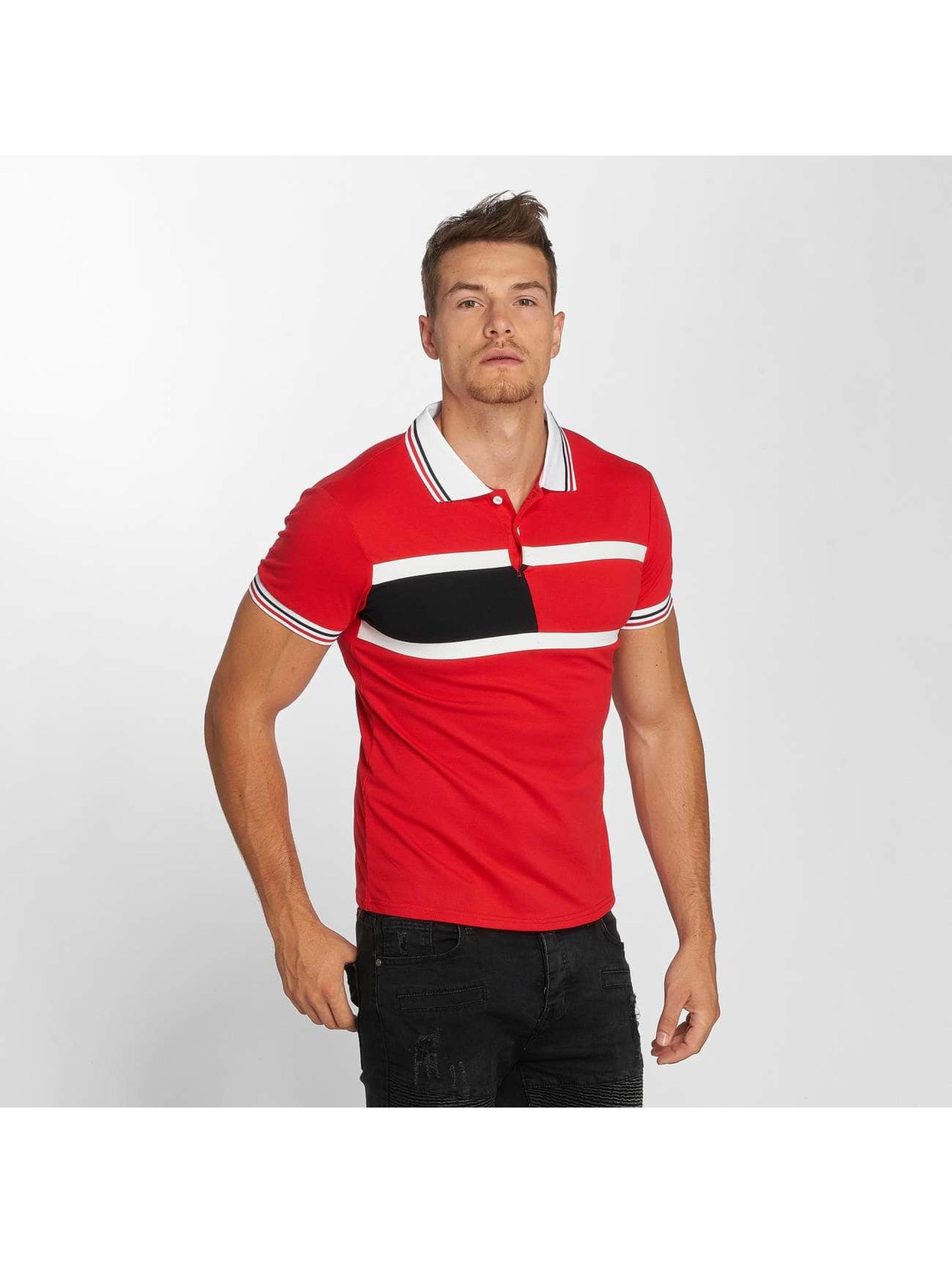 Aarhon Poloshirt Stripes rot