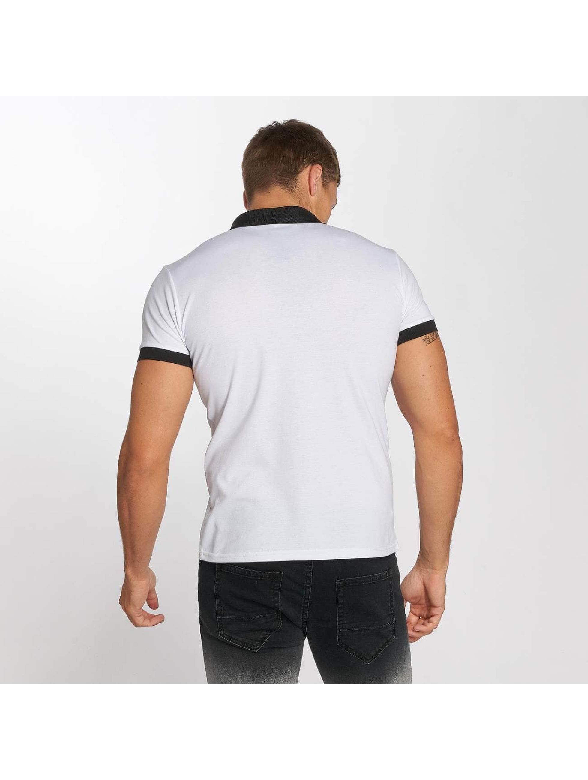 Aarhon Poloshirt Basic weiß