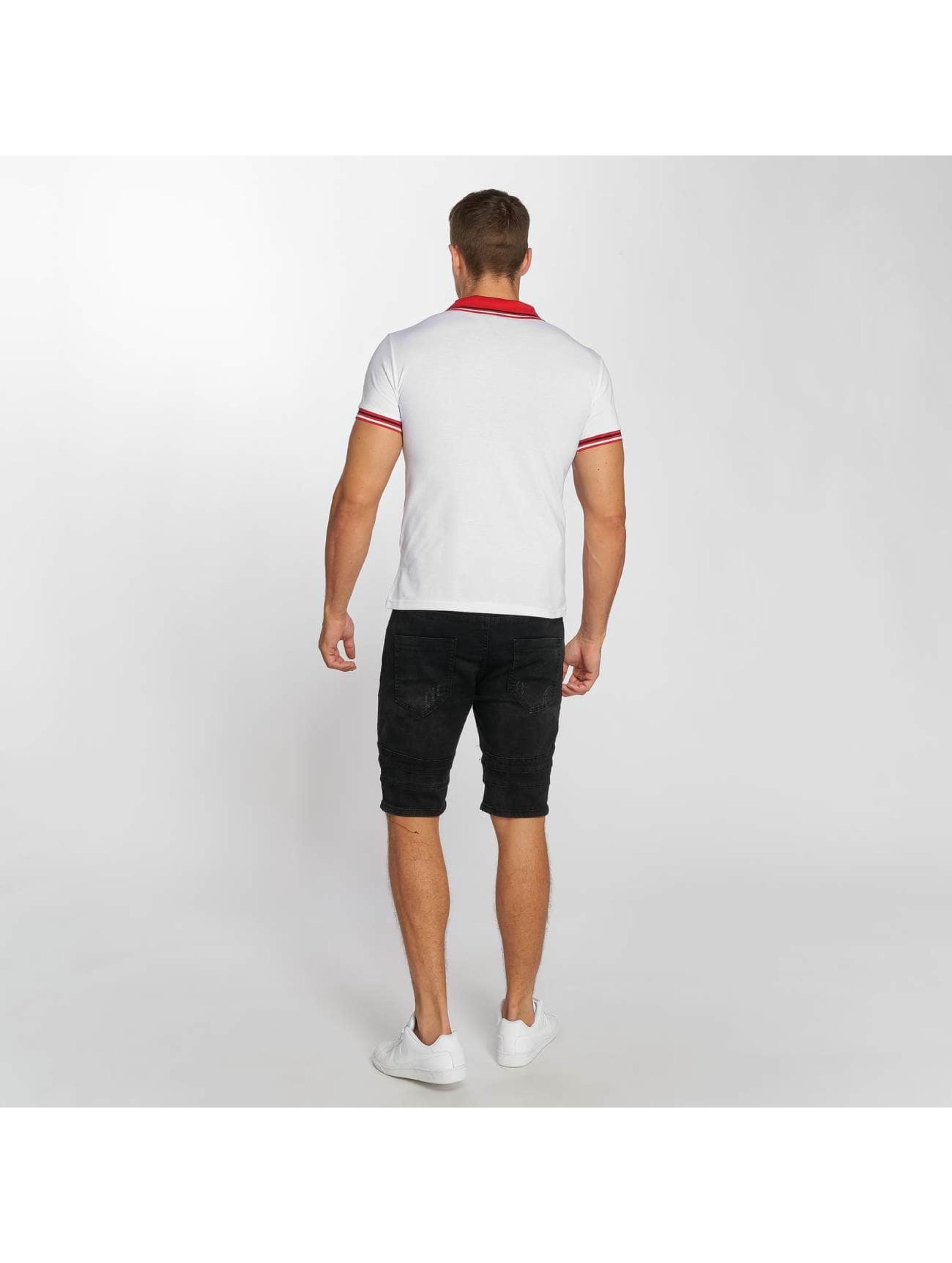 Aarhon Poloshirt Stripes white