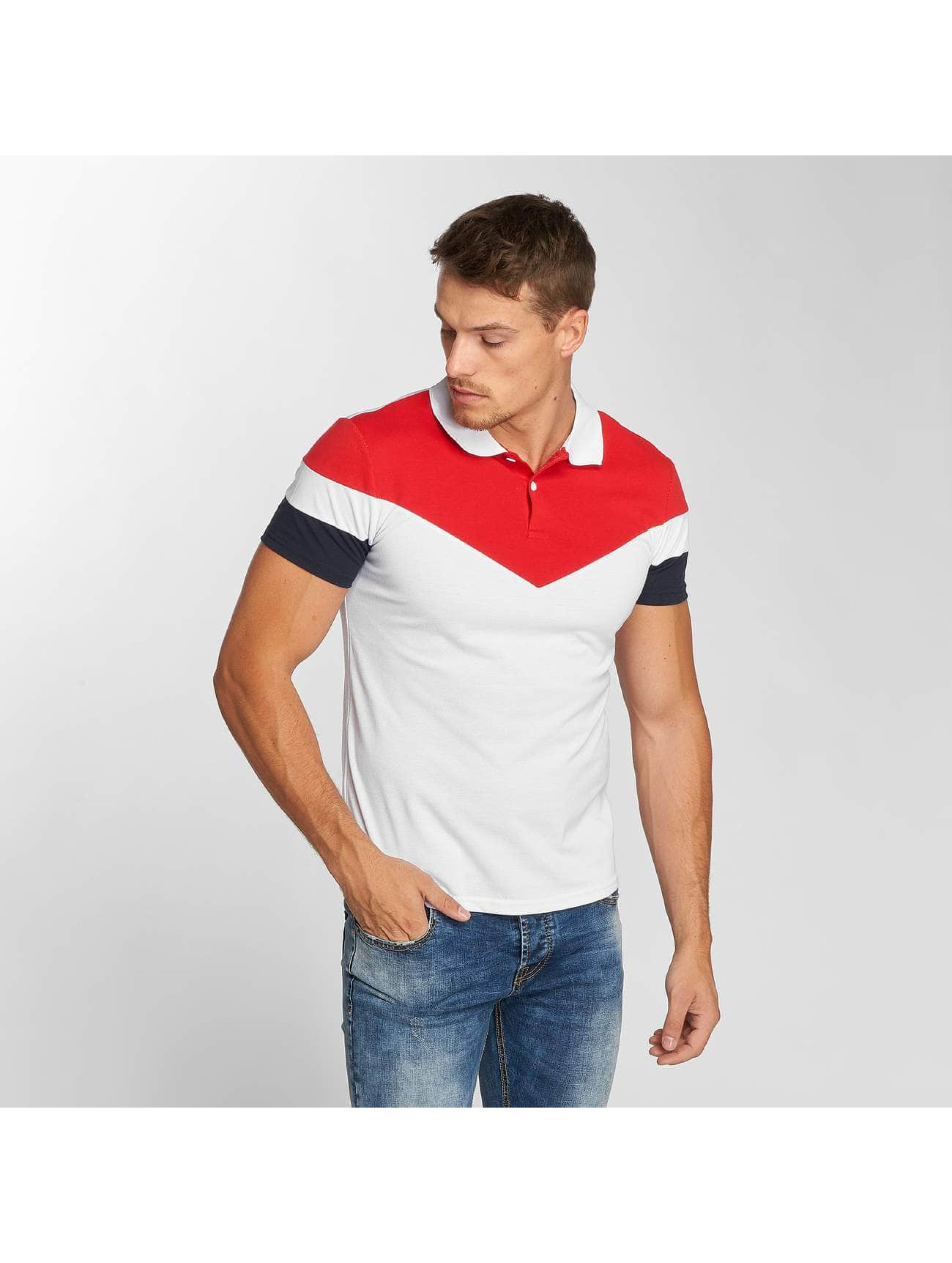 Aarhon Poloshirt Block white
