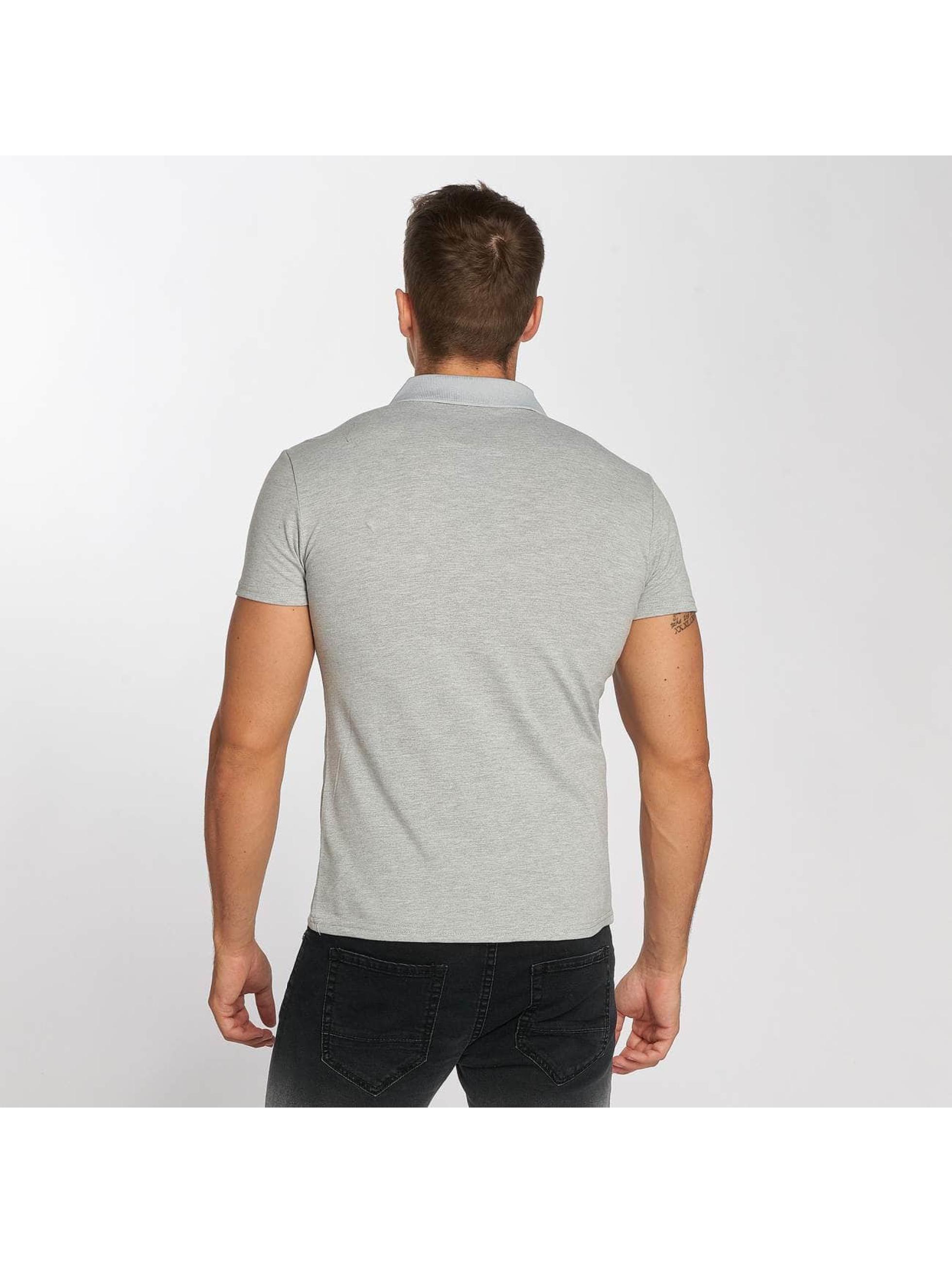 Aarhon Poloskjorter Block grå