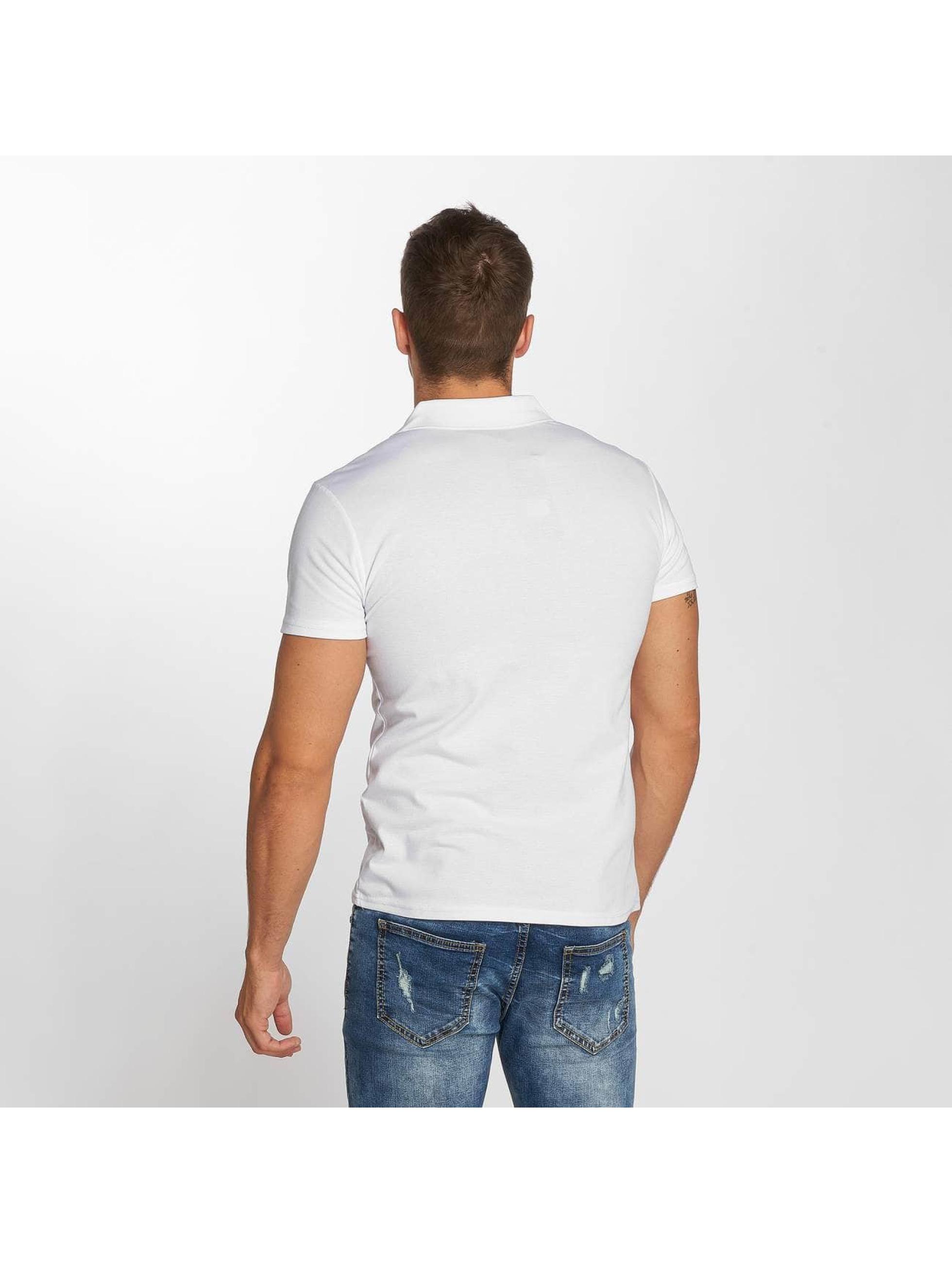 Aarhon Poloskjorter Stripe hvit