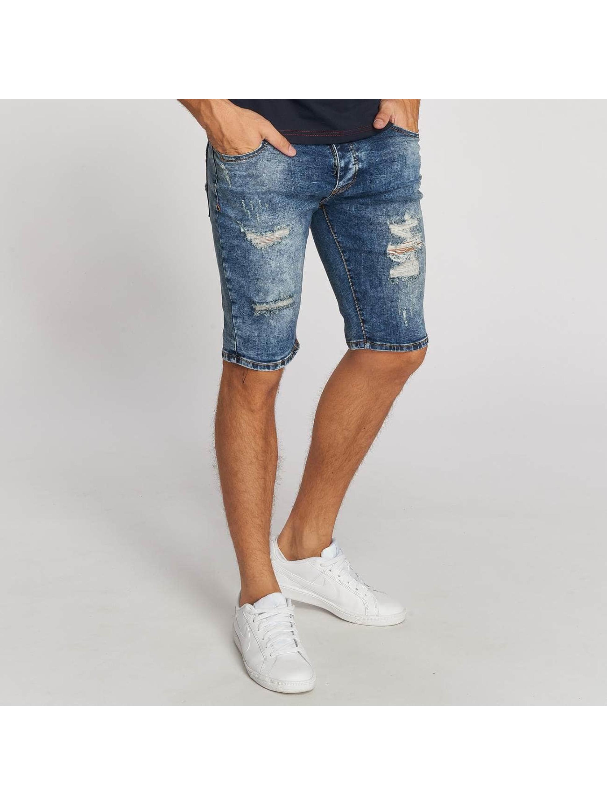 Aarhon Shorts Destroyed blu