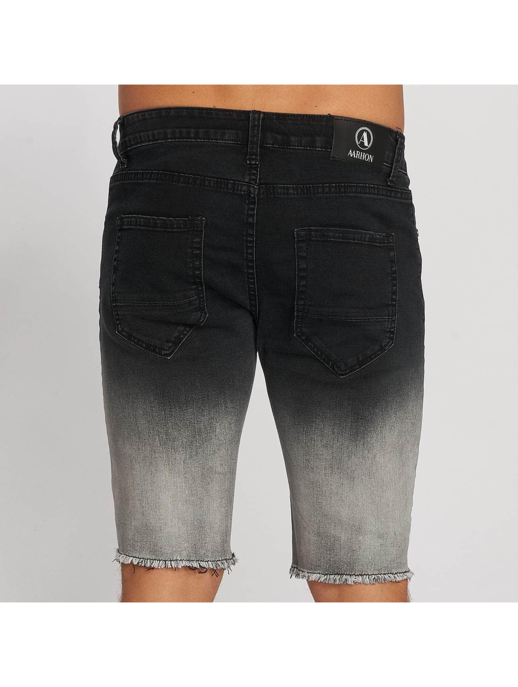 Aarhon Shorts Gradient schwarz