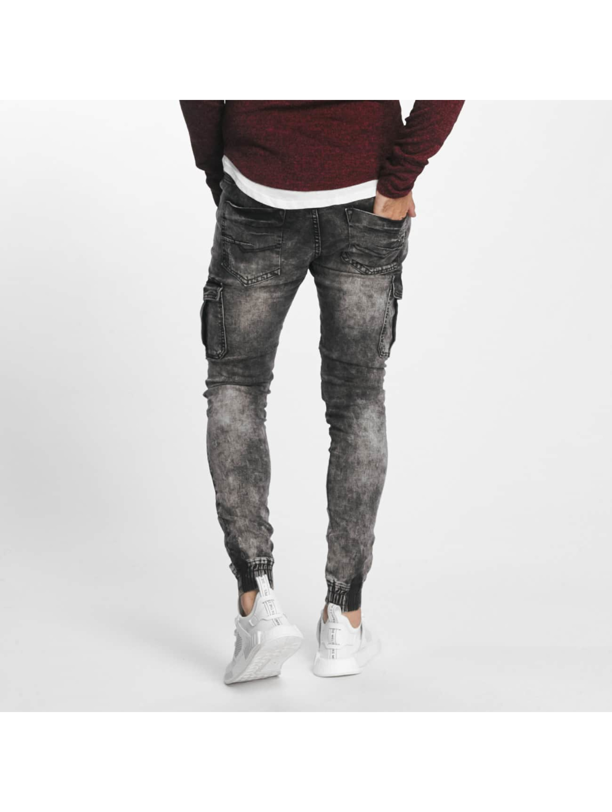 Aarhon Slim Fit -farkut Nizza musta