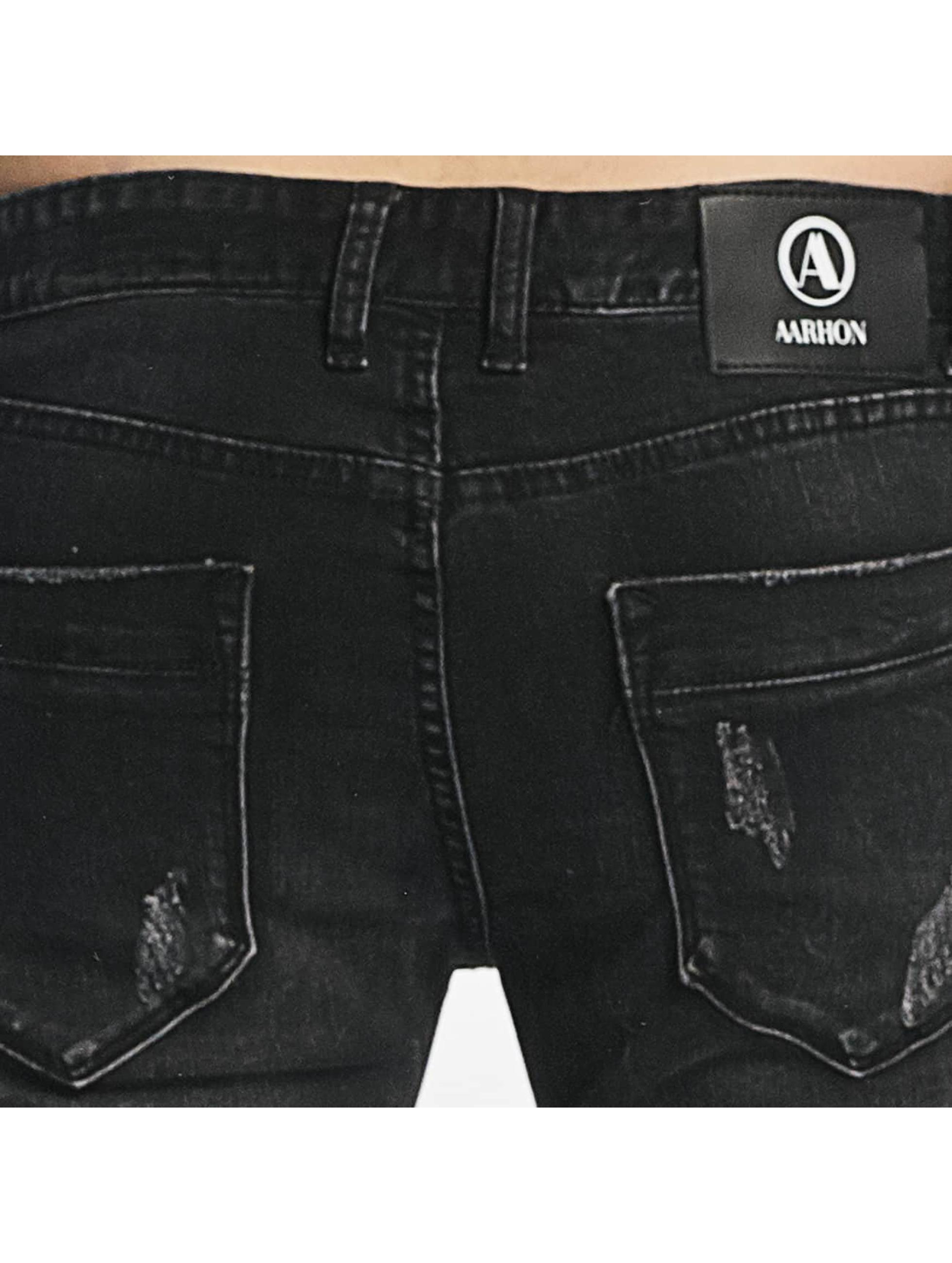 Aarhon Slim Fit Jeans Italio черный