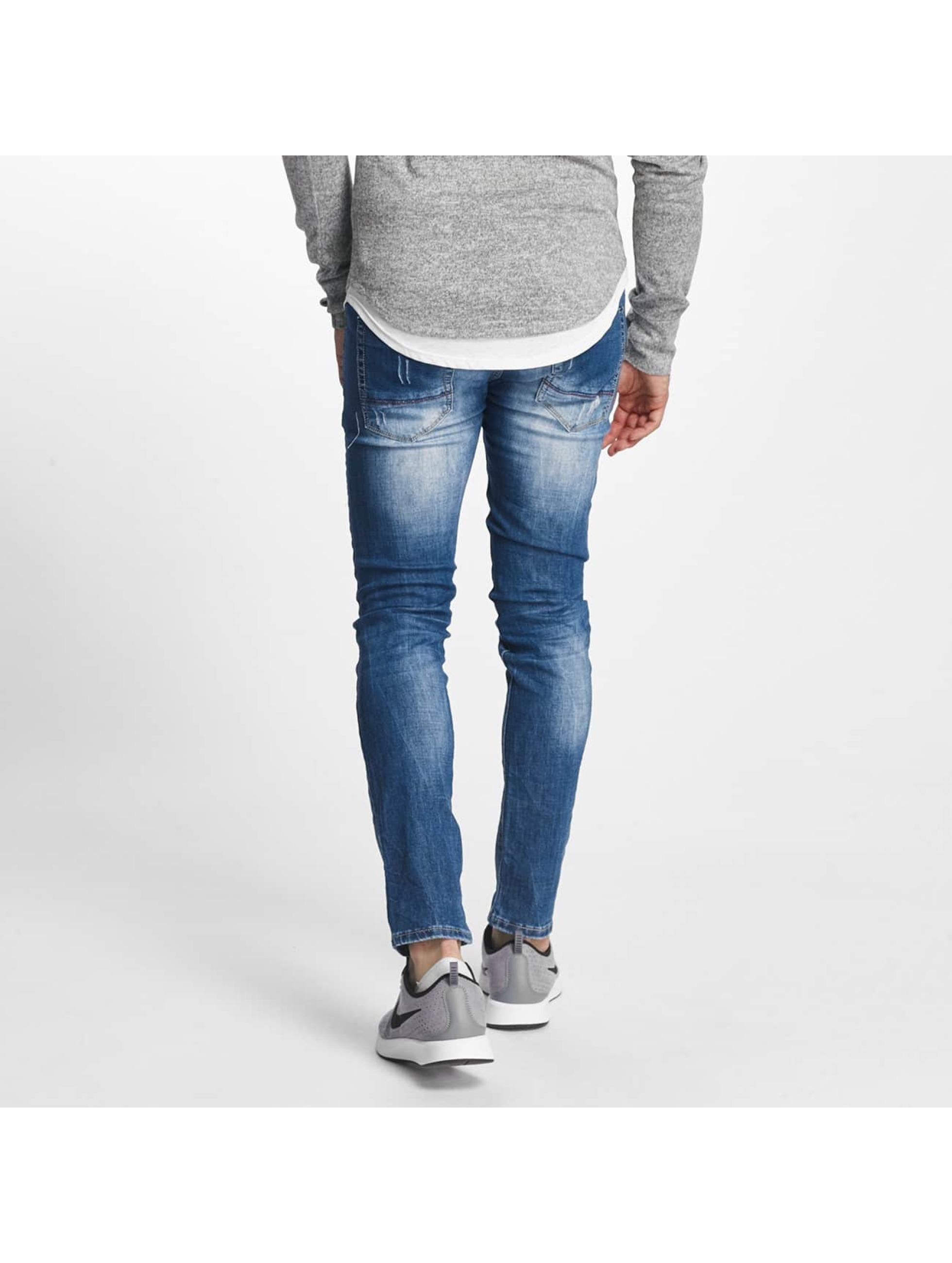 Aarhon Slim Fit Jeans Pisa blå
