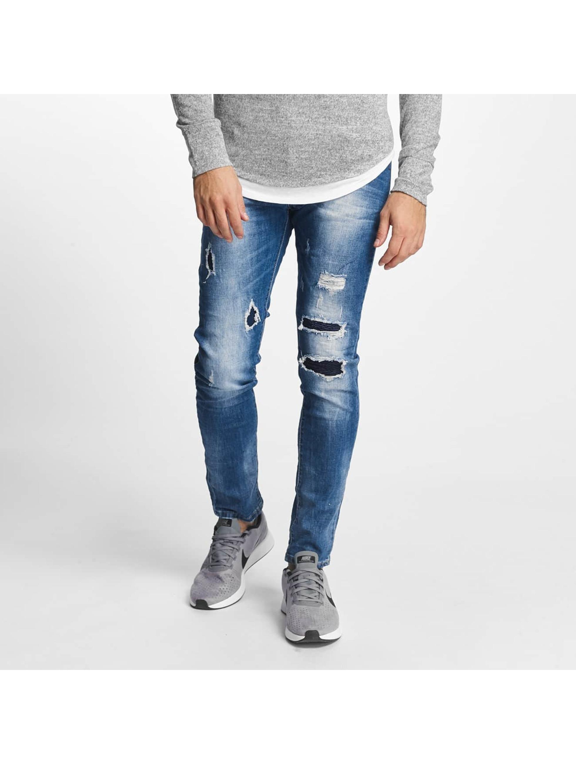 Aarhon Slim Fit Jeans Pisa blu