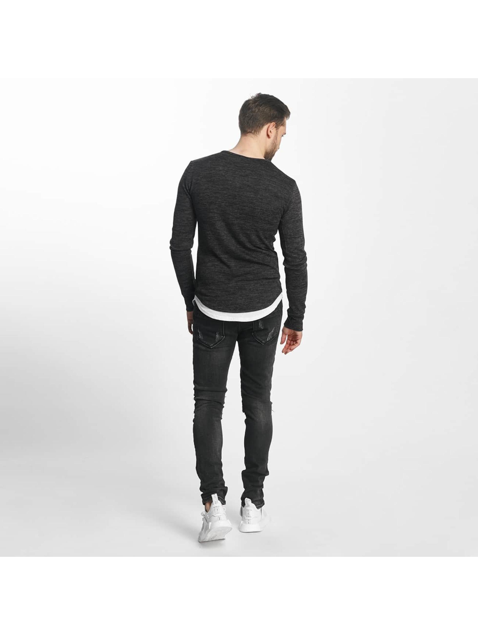 Aarhon Slim Fit Jeans Italio svart