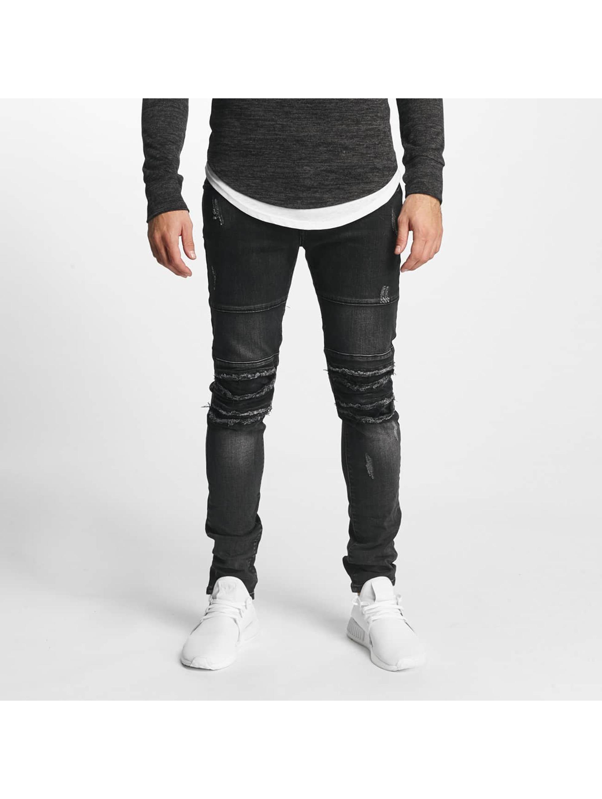 Aarhon Slim Fit Jeans Italio zwart