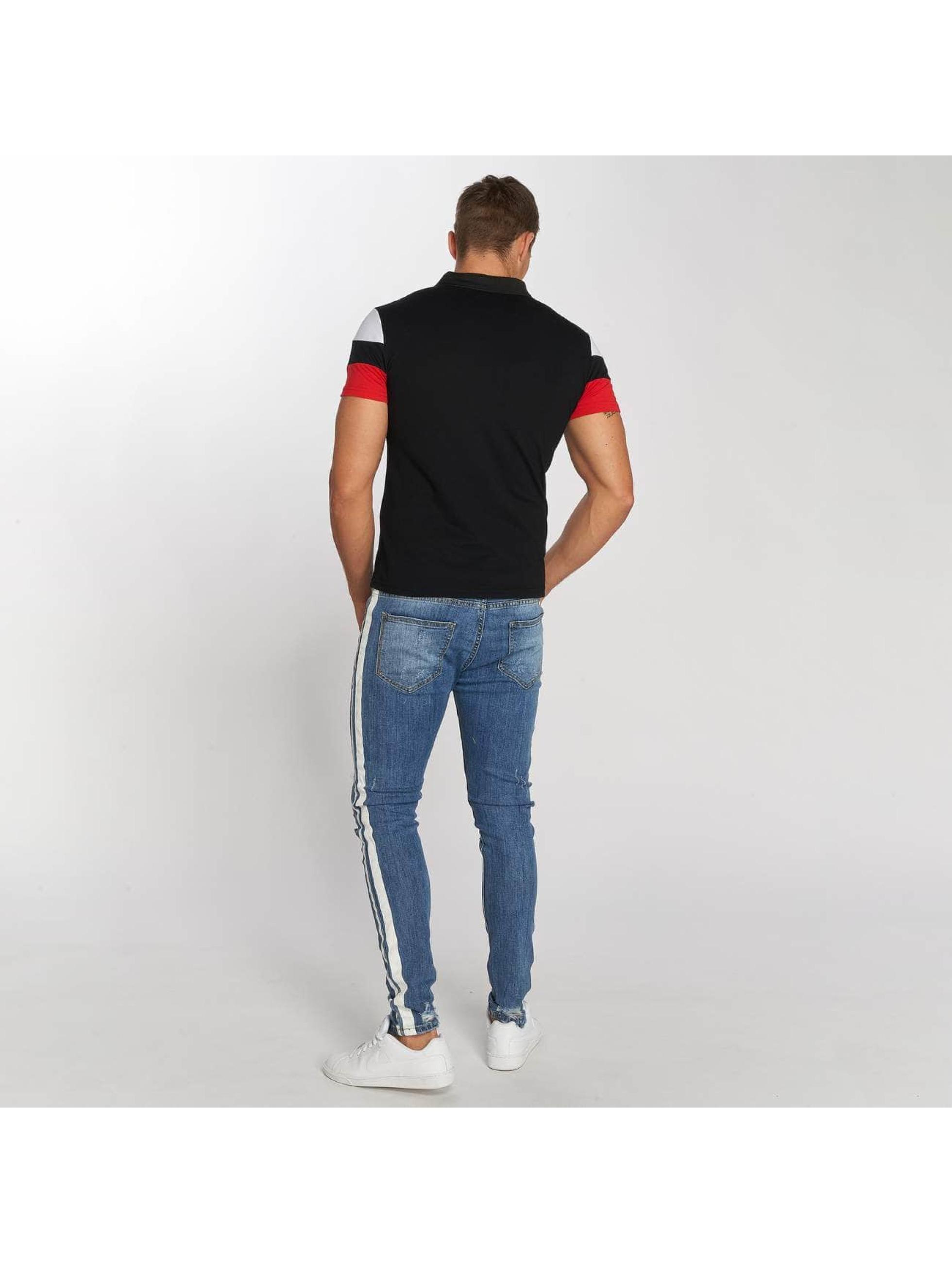 Aarhon Straight Fit Jeans Stripe blau