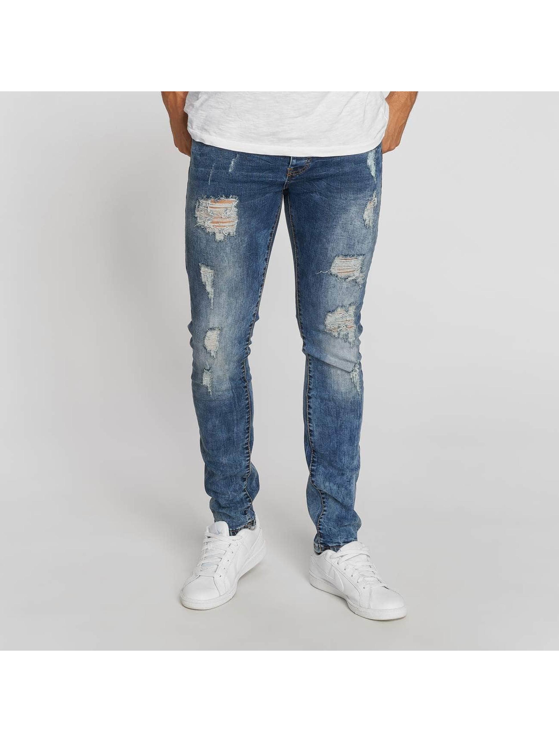 Aarhon Straight Fit Jeans Dark Washed blau