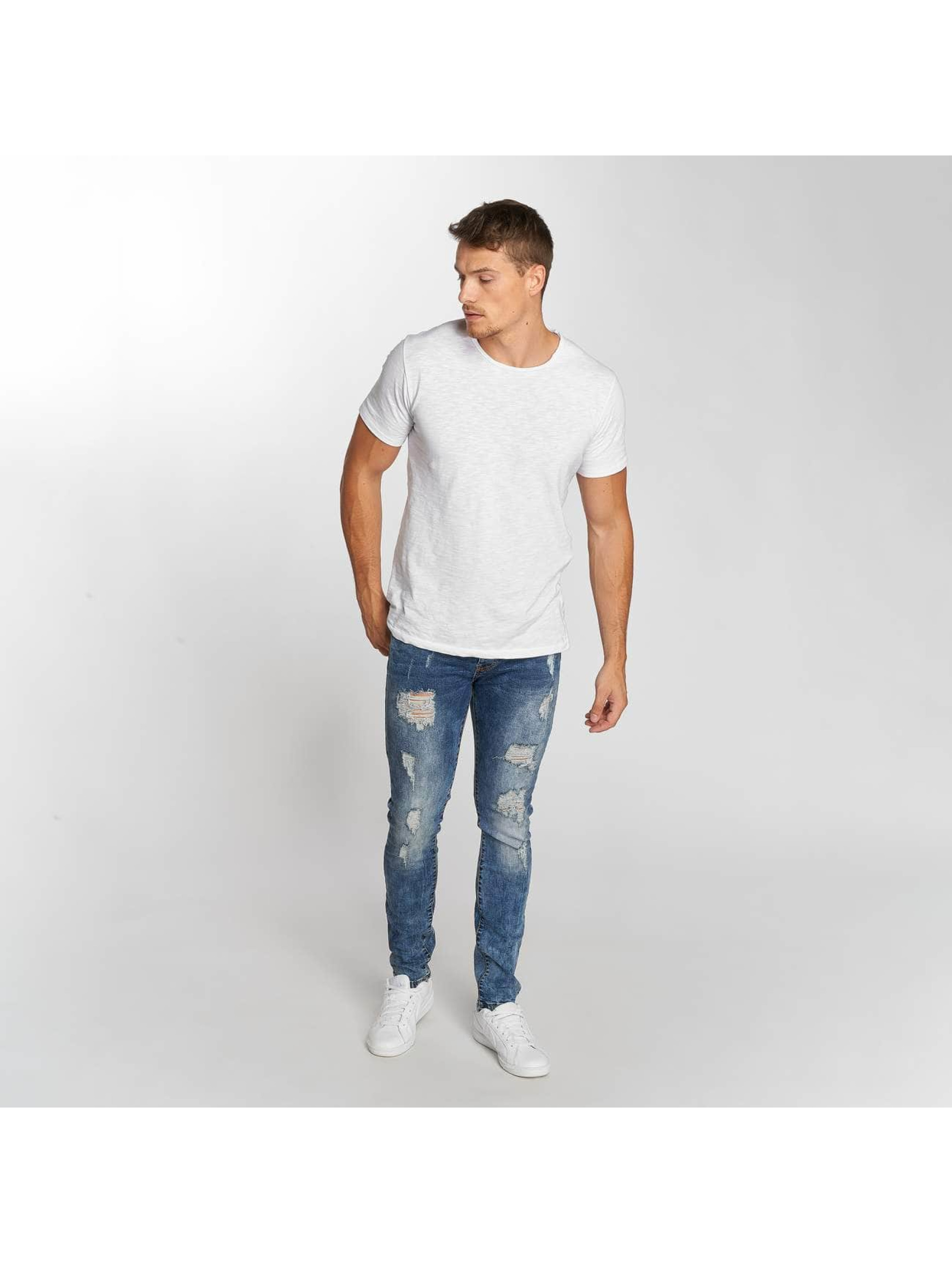 Aarhon Straight fit jeans Dark Washed blauw
