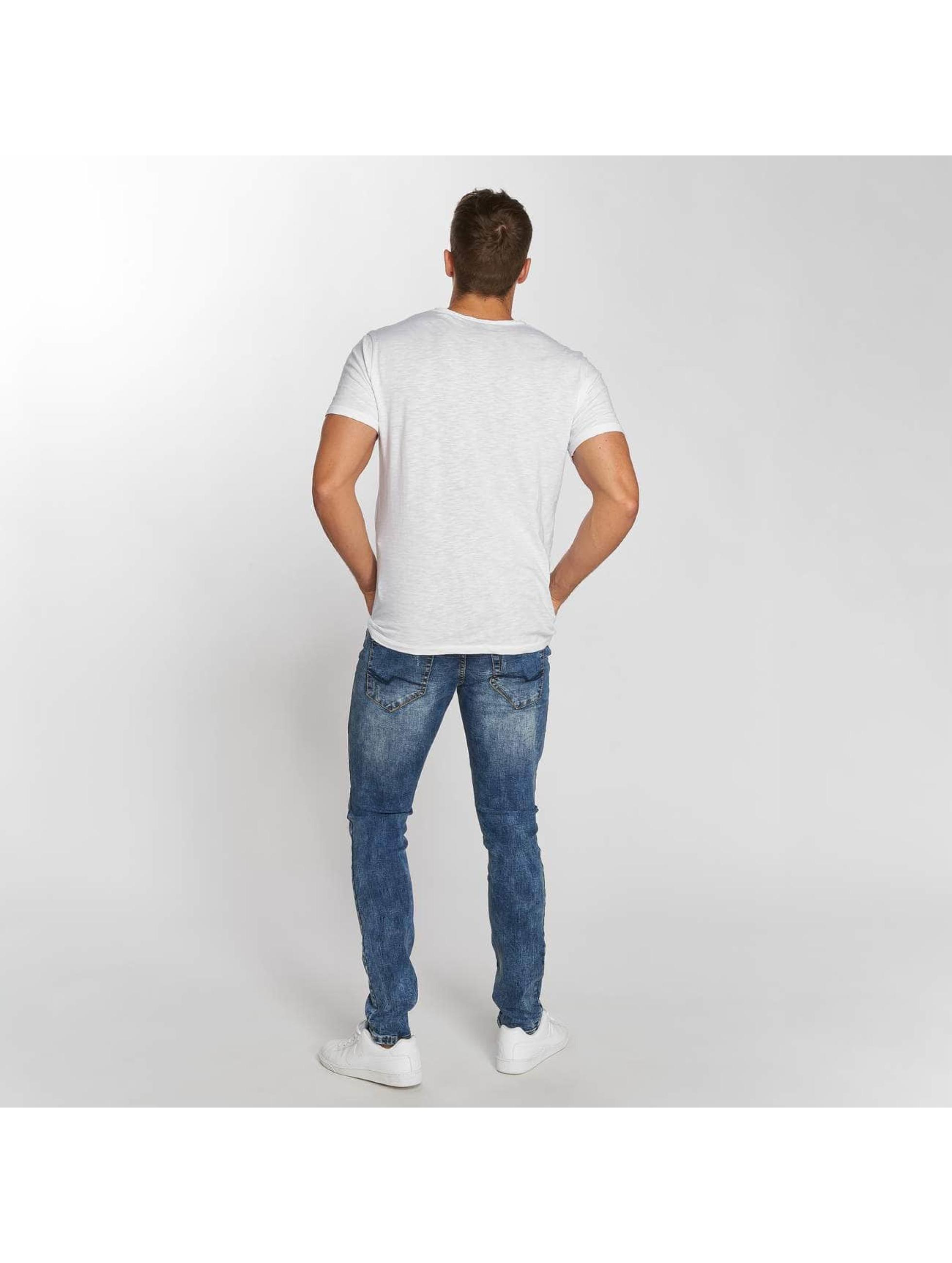 Aarhon Straight Fit Jeans Dark Washed modrý