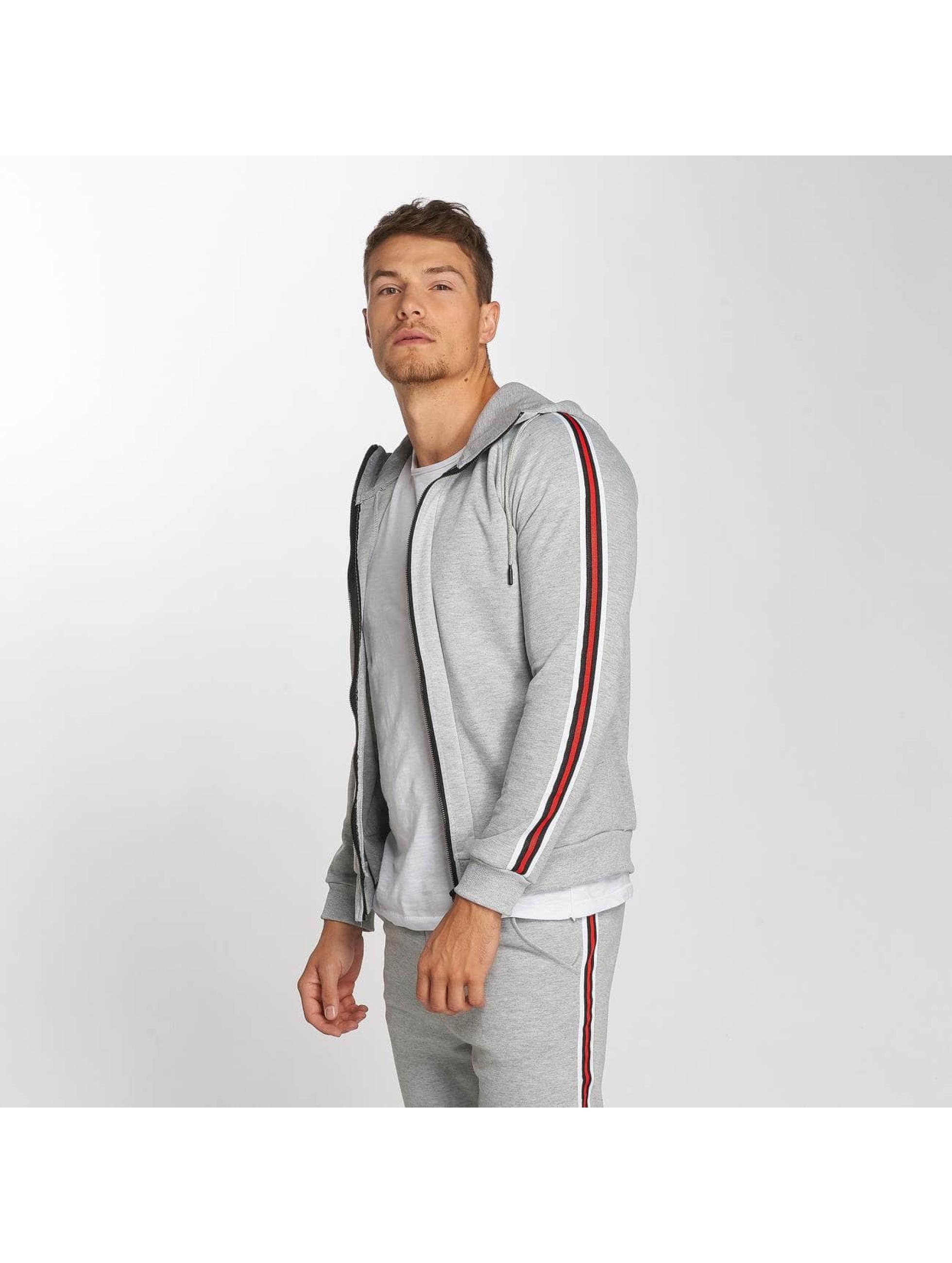Aarhon Suits Coloured Stripes grey