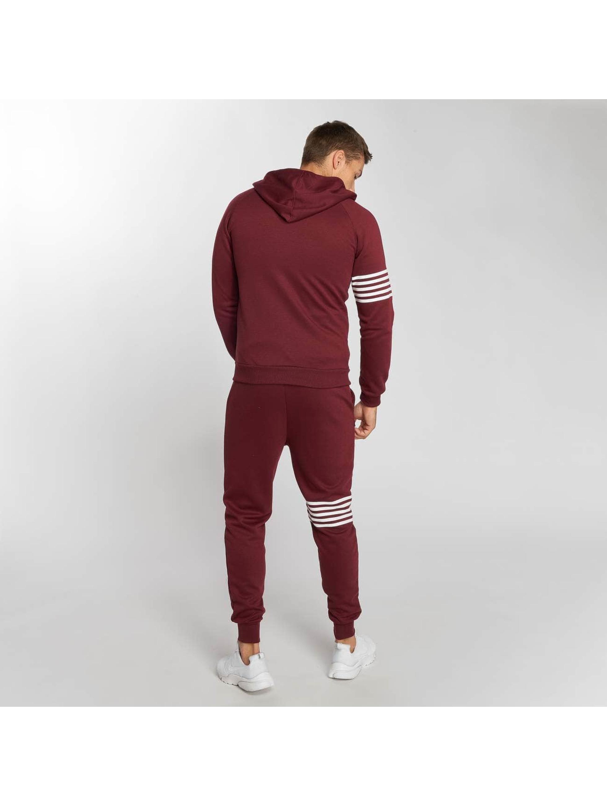 Aarhon Suits Stripes red