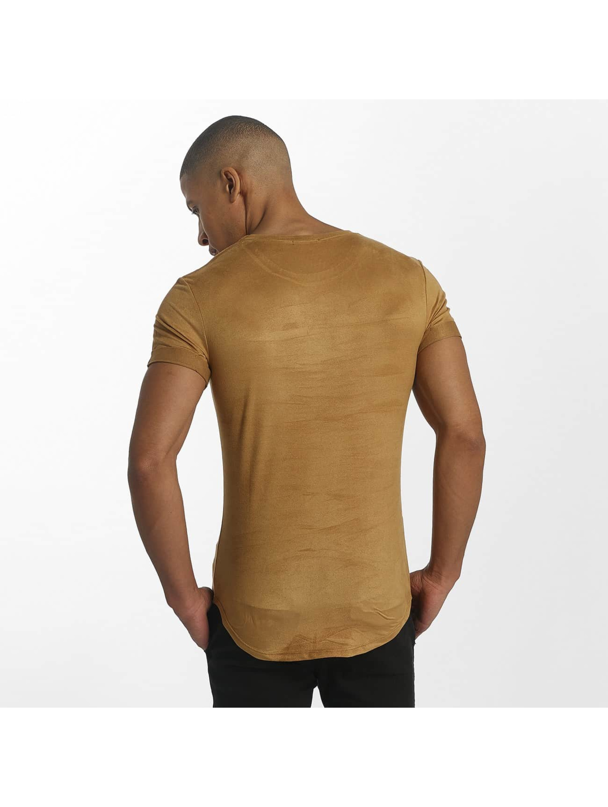 Aarhon t-shirt Roma bruin