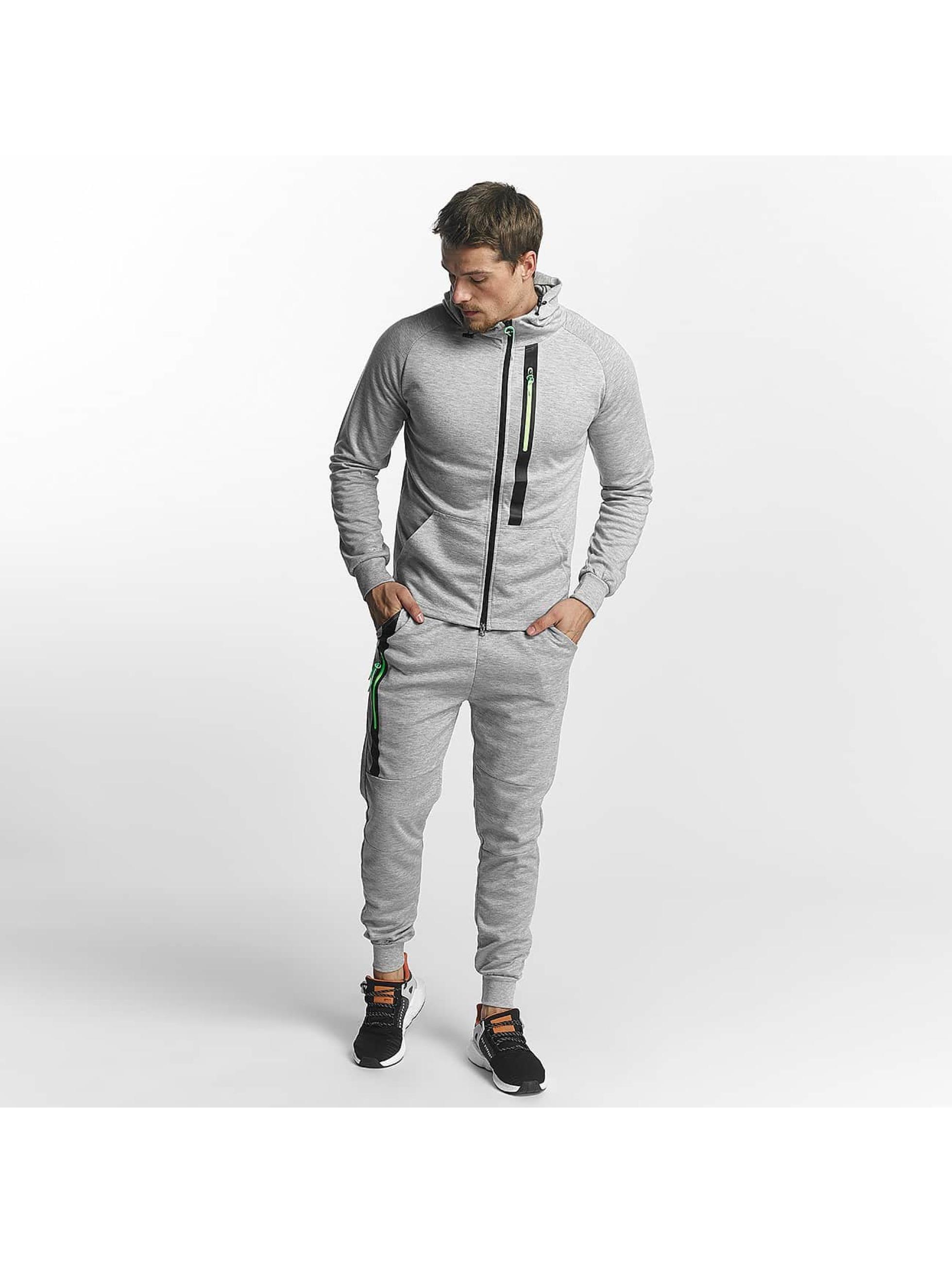 Aarhon Trainingspak Aarhon Track Suit grijs