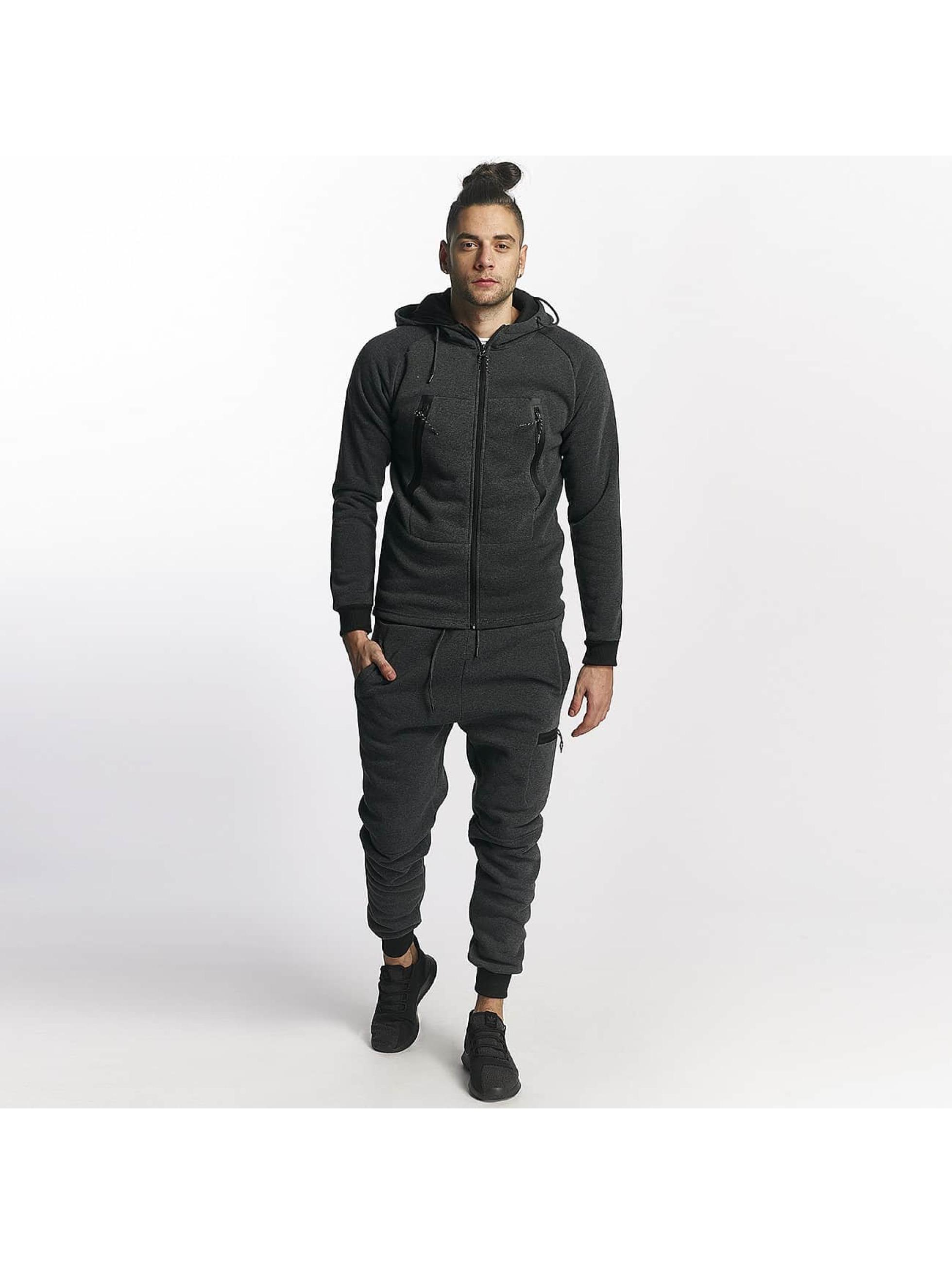 Aarhon Trainingspak Aarhon Sweat Suit grijs
